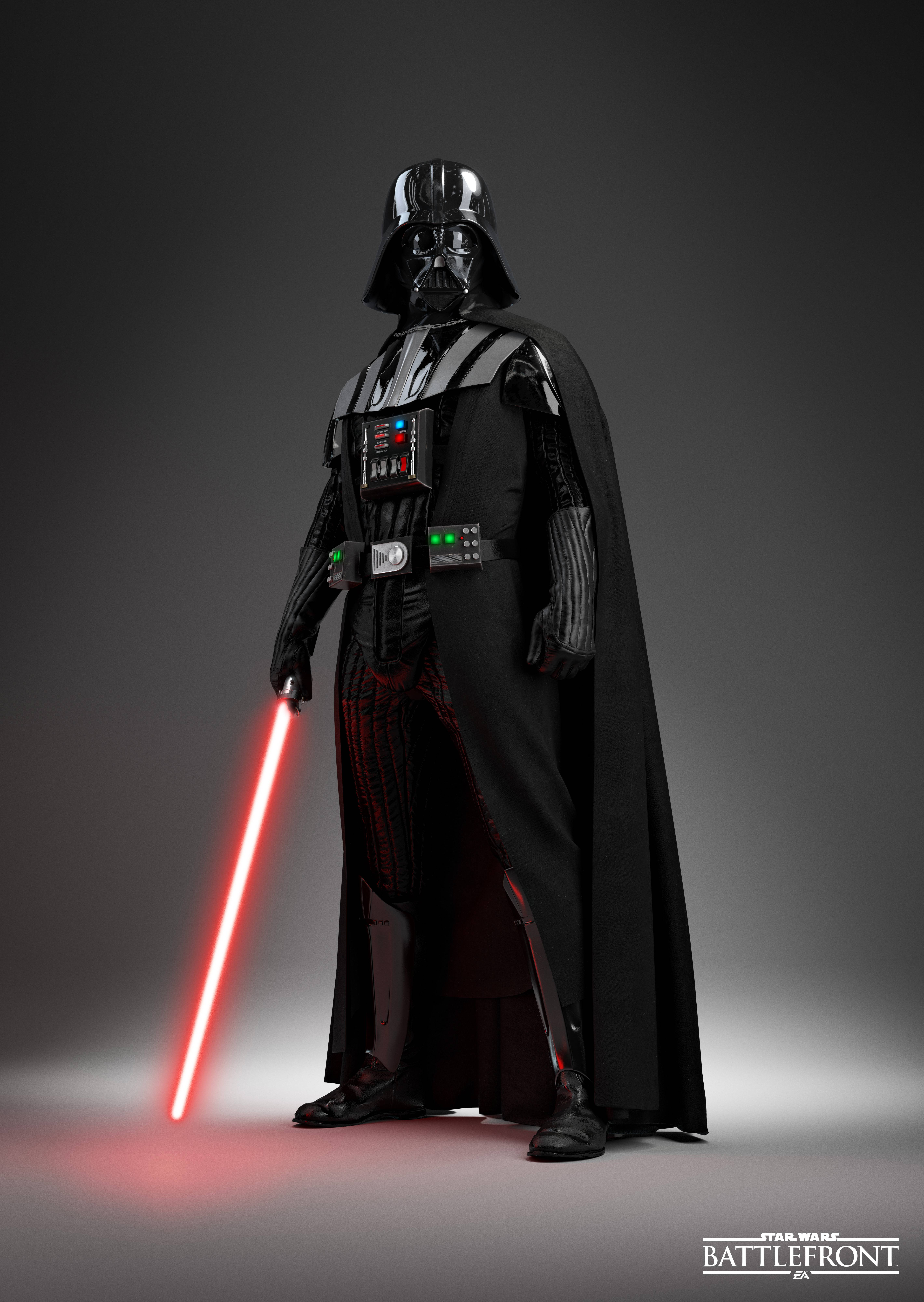 People 5680x8000 Darth Vader Sith Star Wars Star Wars: Battlefront lightsaber Star Wars Villains video games simple background