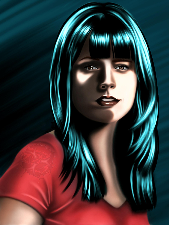 General 2250x3000 Jordana Brewster digital art portrait actress celebrity model