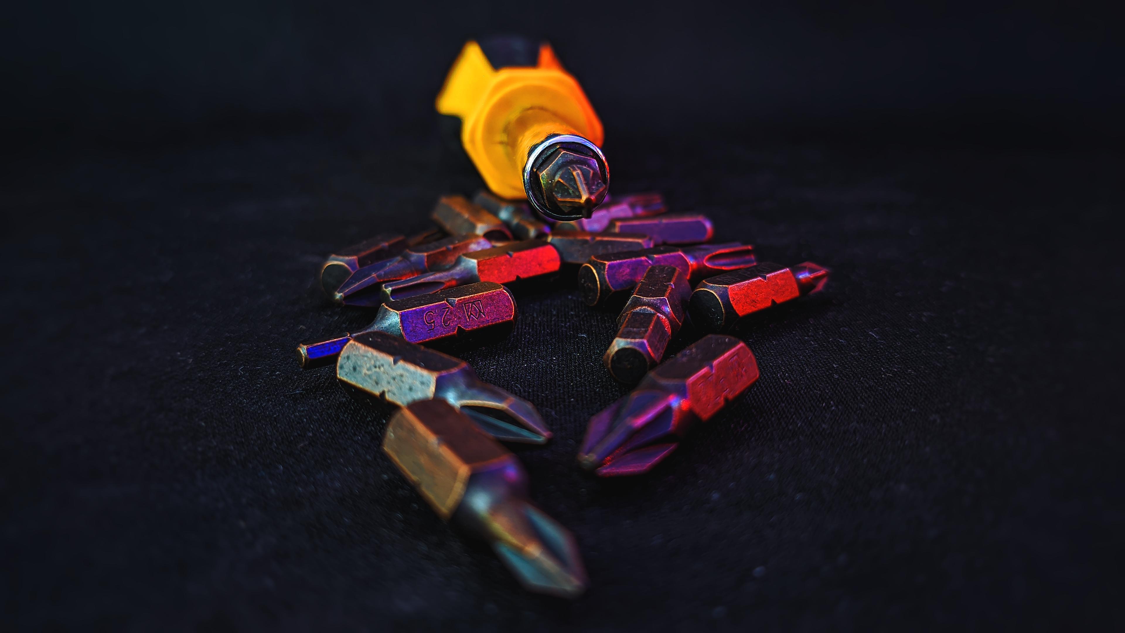 General 3840x2160 work screwdriver tools photography tech screws  4K