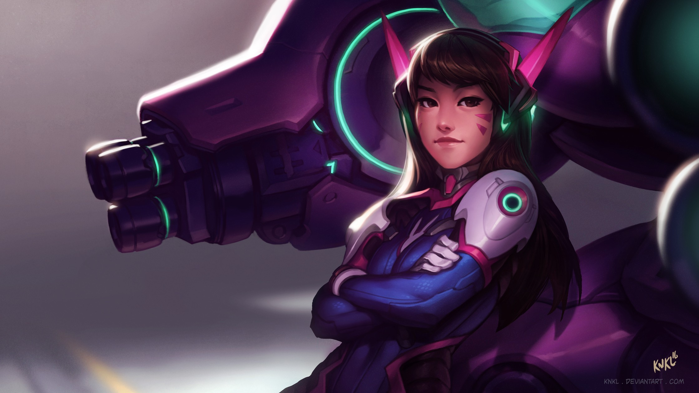 Anime 2240x1260 Overwatch D.Va (Overwatch) PC gaming anime girls anime