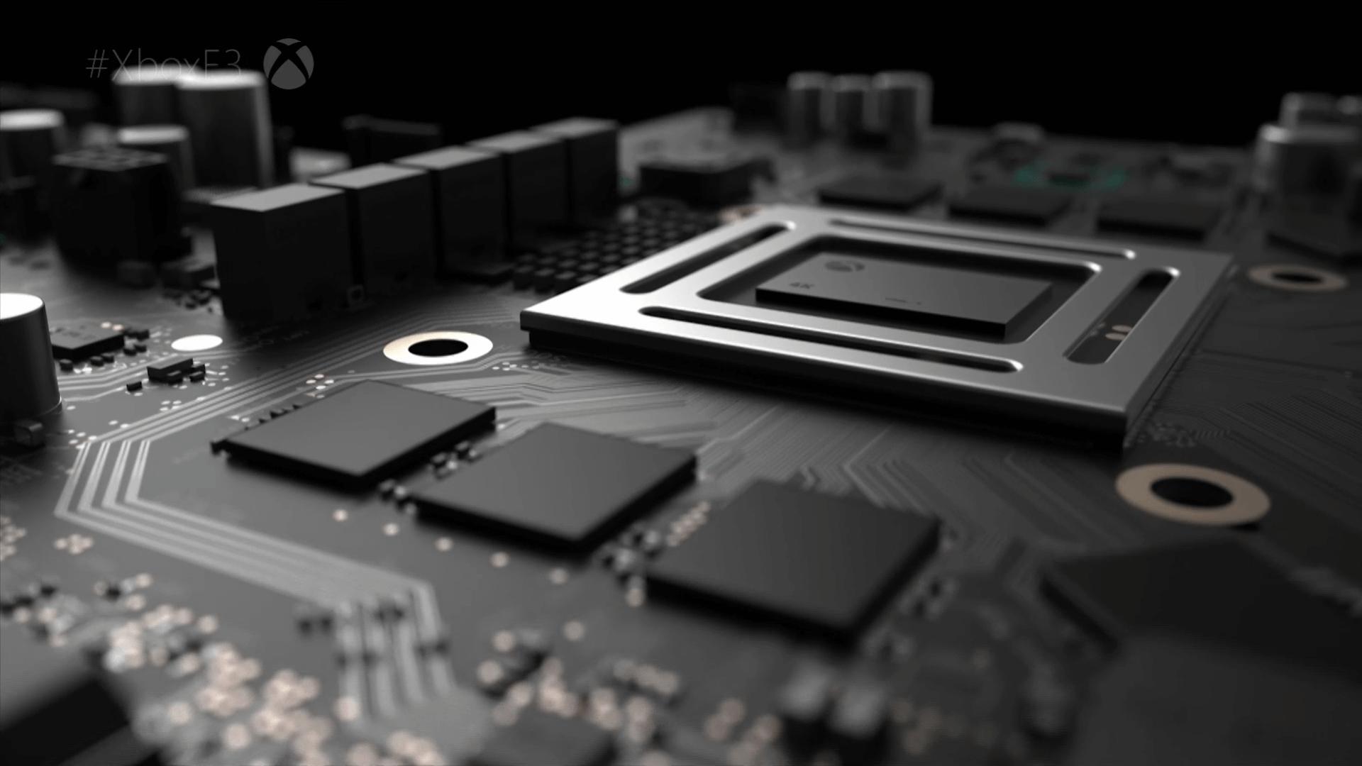 General 1920x1080 Project Scorpio Microsoft Xbox CPU