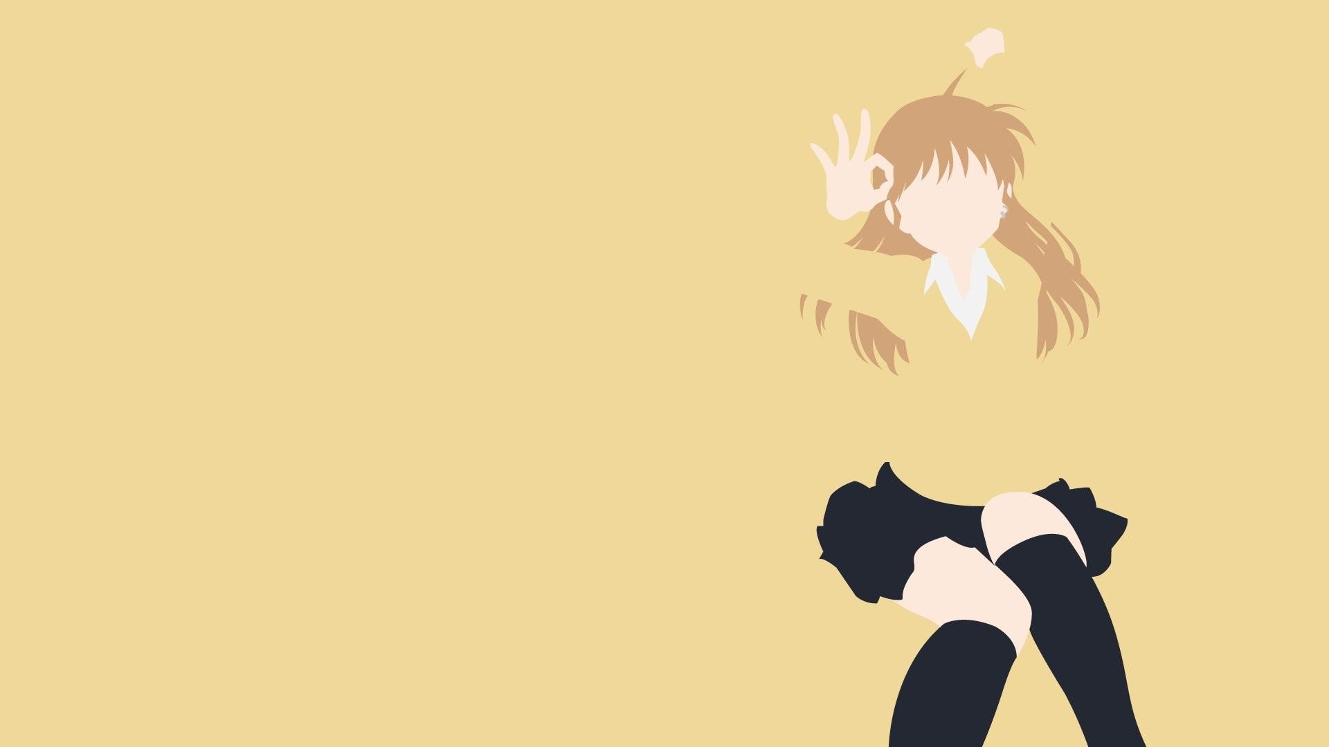 Anime 1920x1080 B-gata H-kei anime girls Yamada beige