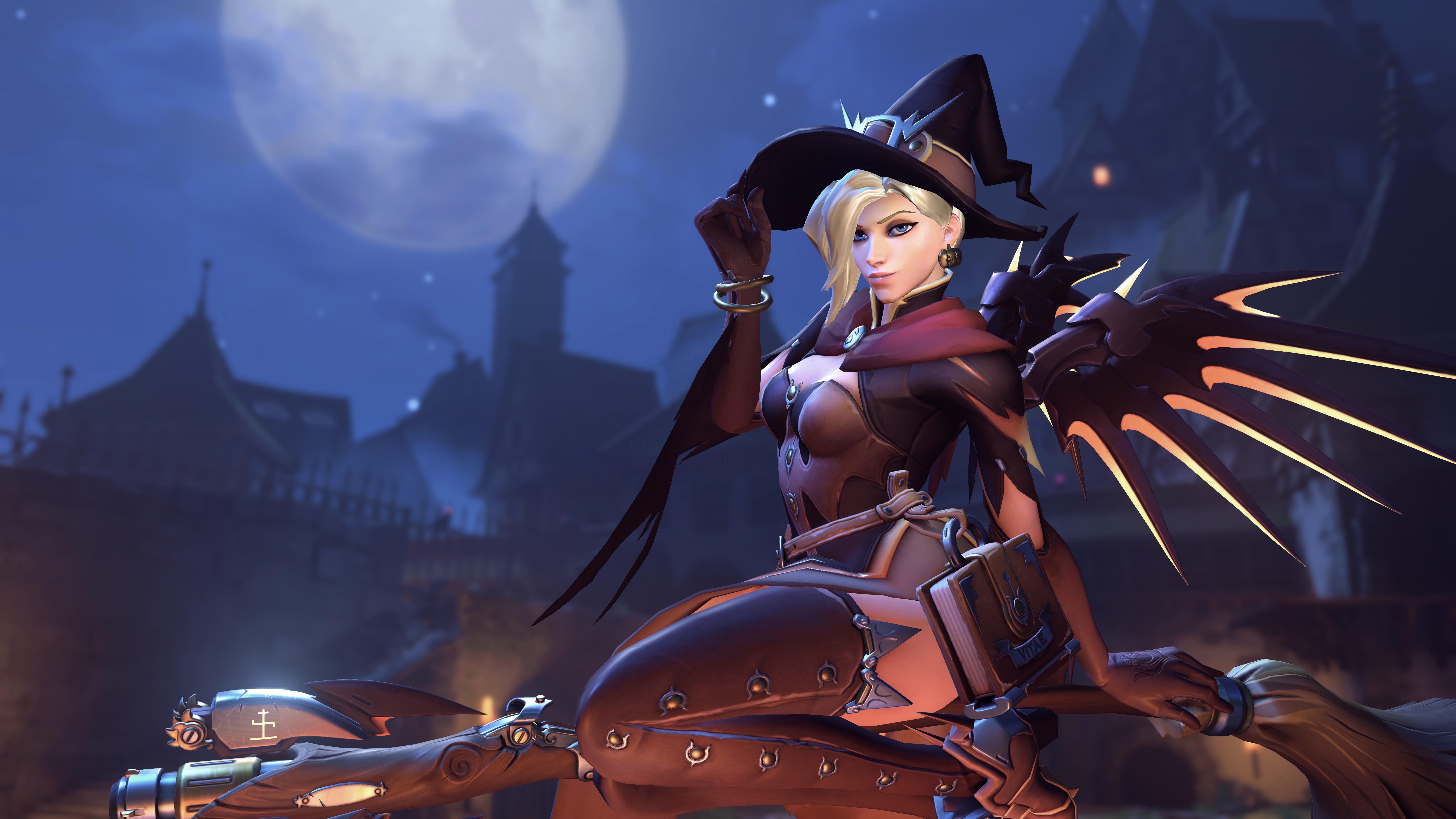 General 9600x5400 Mercy (Overwatch) Overwatch Witch Mercy