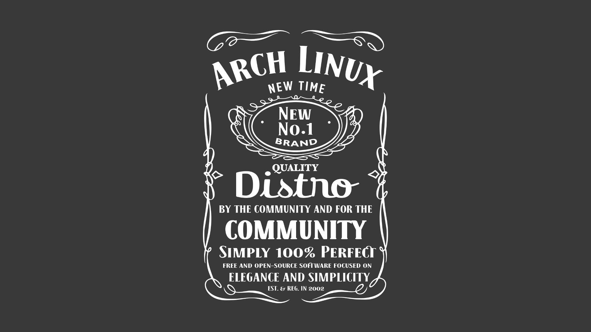General 1920x1080 Archlinux Linux simple background black background