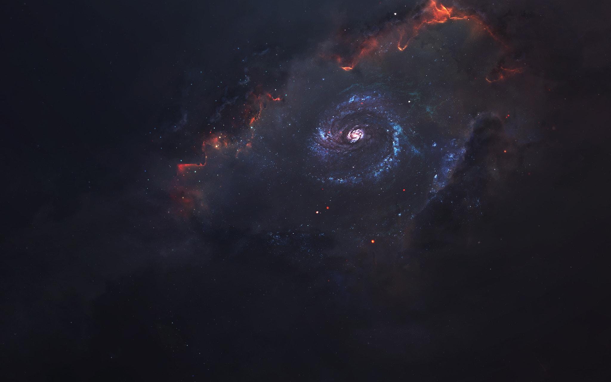General 2048x1280 500px Vadim Sadovski digital art galaxy space art space