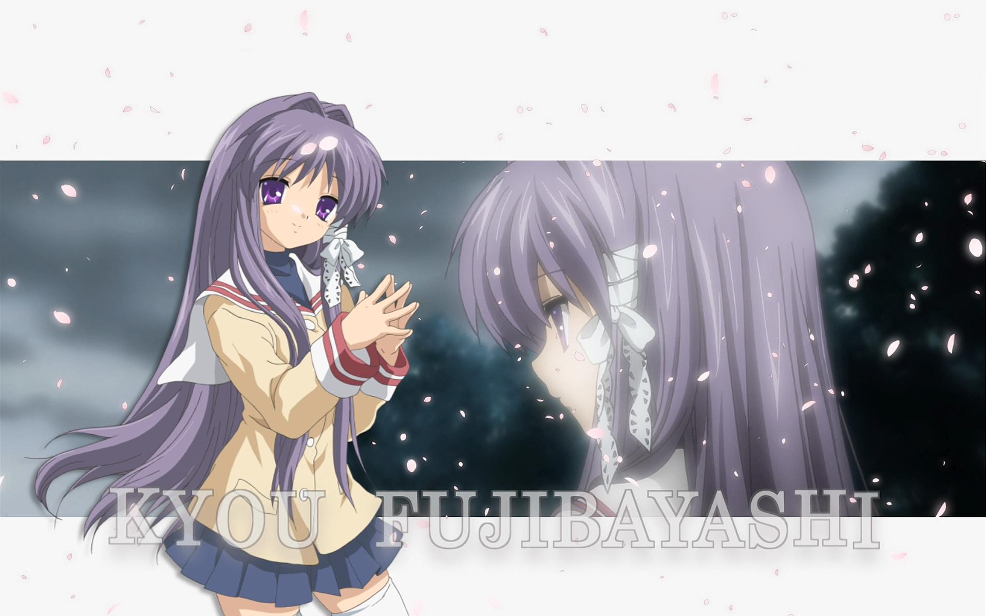 Anime 1920x1200 test kyou, please ignore anime Fujibayashi Kyou Clannad