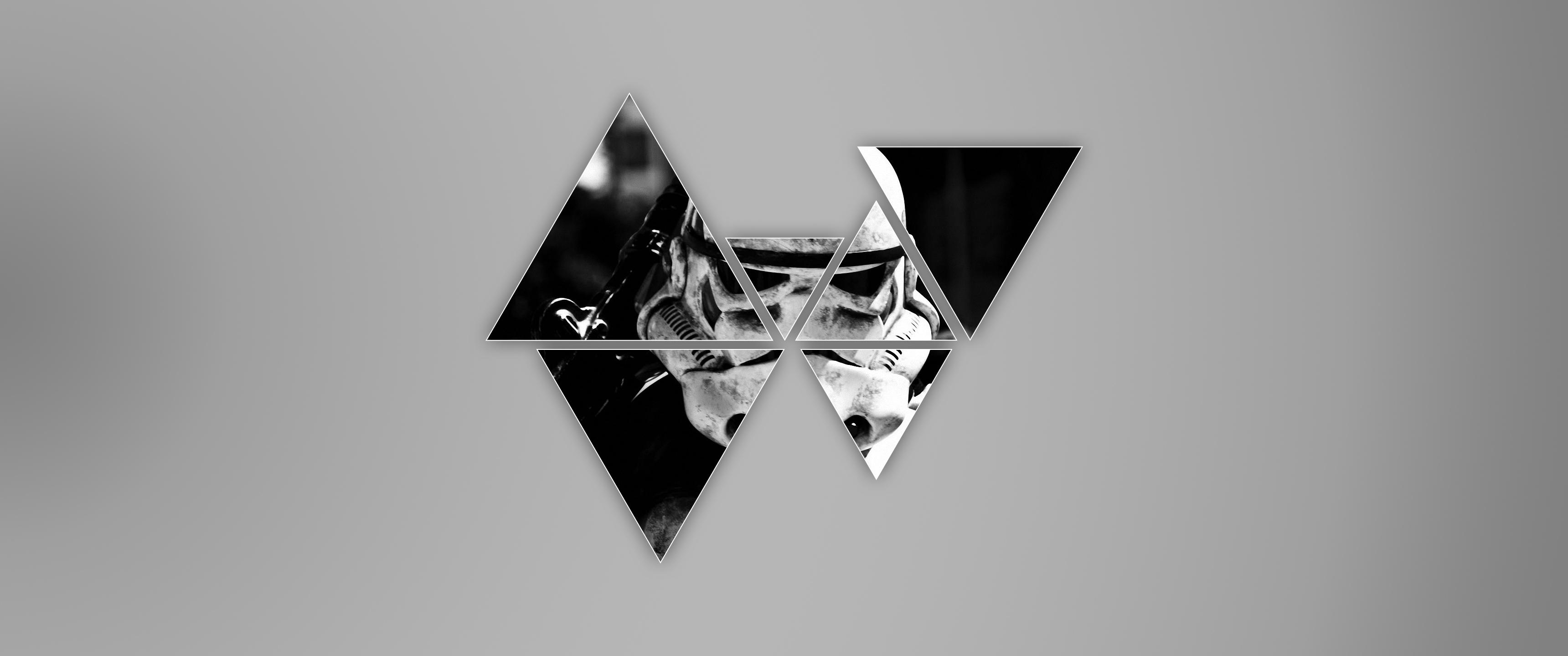 Trooper Star Wars Monochrome 3440x1440 Wallpaper Wallhaven Cc