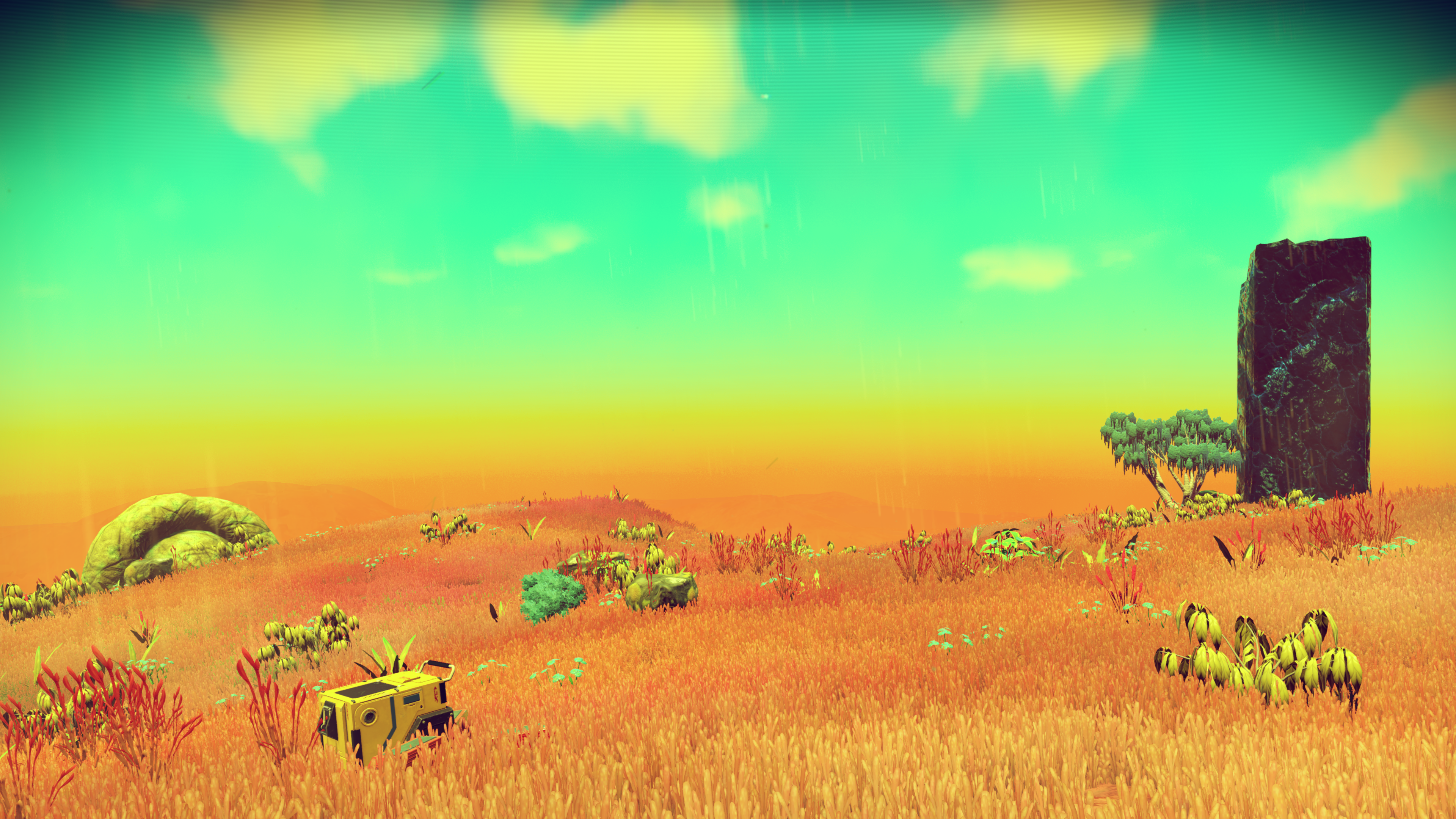 General 3840x2160 No Man's Sky space planet spaceship