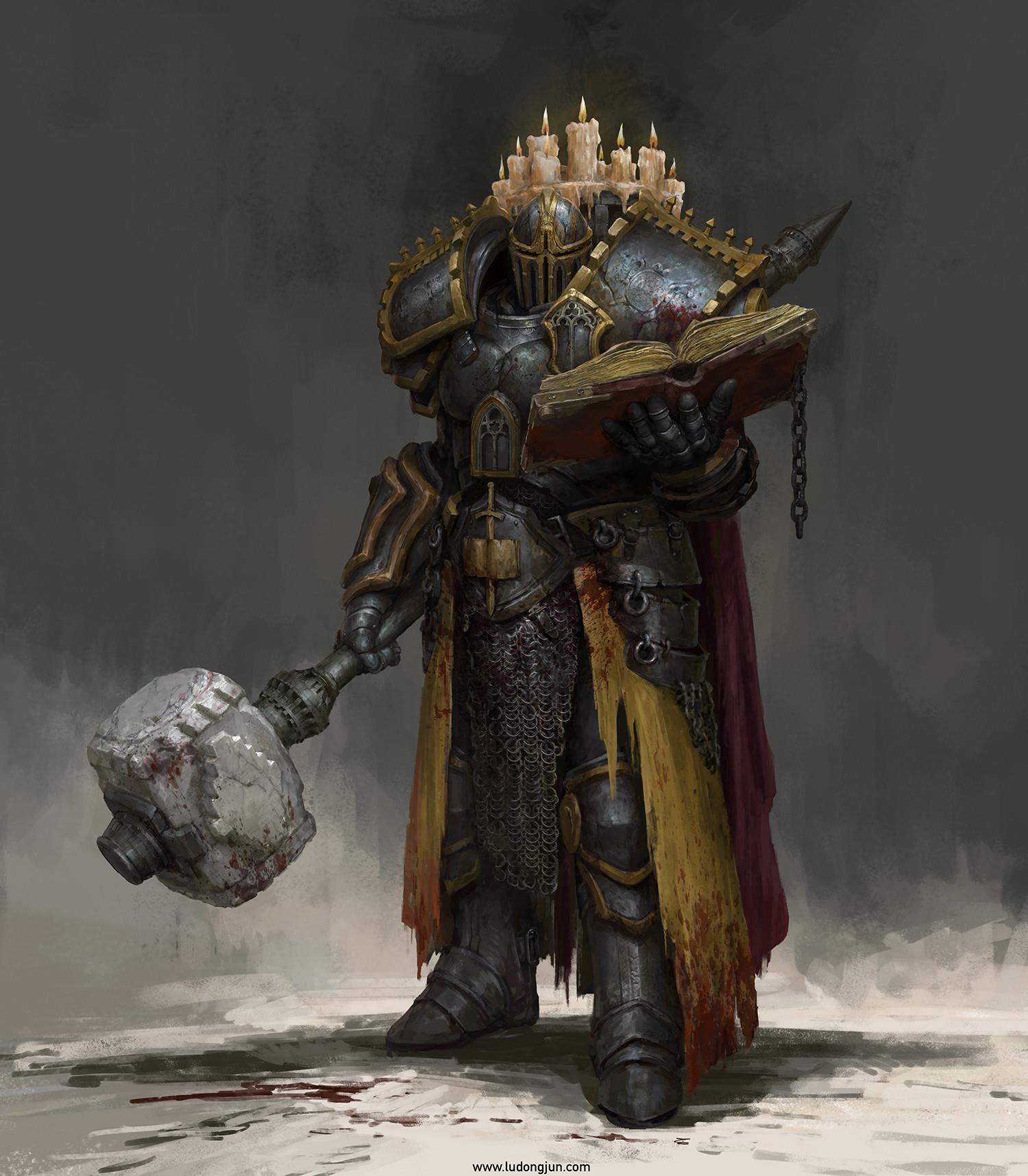 General 1500x1716 fantasy art fantasy armor concept art portrait display Russell Dongjun Lu Dark Castle Warrior