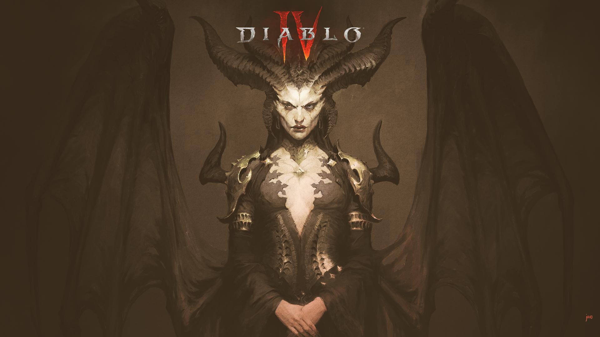 General 1920x1080 diablo 4 diablo iv Diablo RPG Lilith Lilith (Diablo) sanctuary javo Blizzard Entertainment BlizzCon frontal view