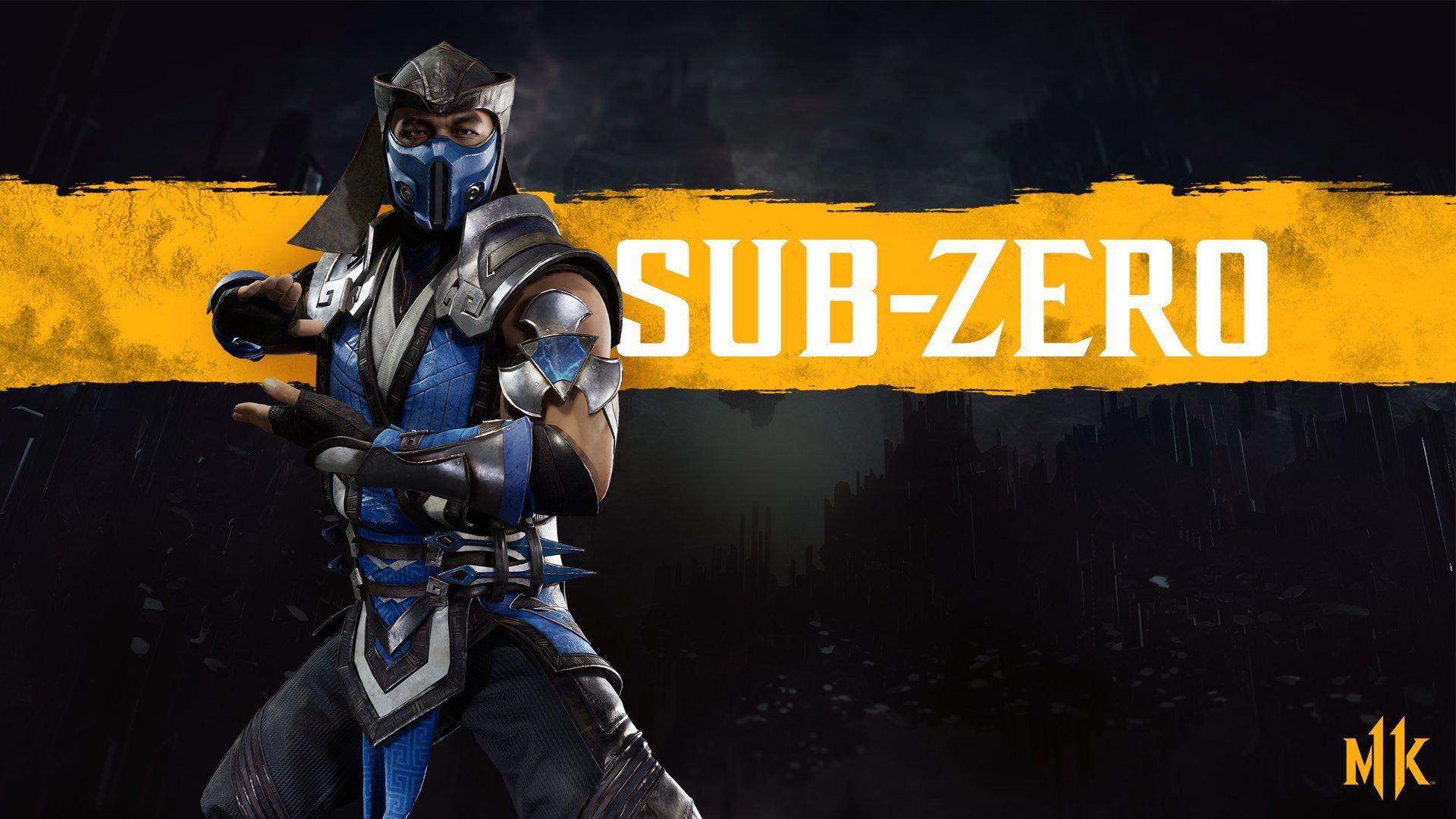 General 1920x1080 Mortal Kombat 11 video games Video Game Warriors Sub-Zero