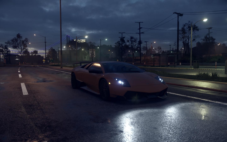General 1440x900 Need For Speed 2015 Lamborghini Murcielago LP 670-4 Super Veloce car Lamborghini video games screen shot vehicle