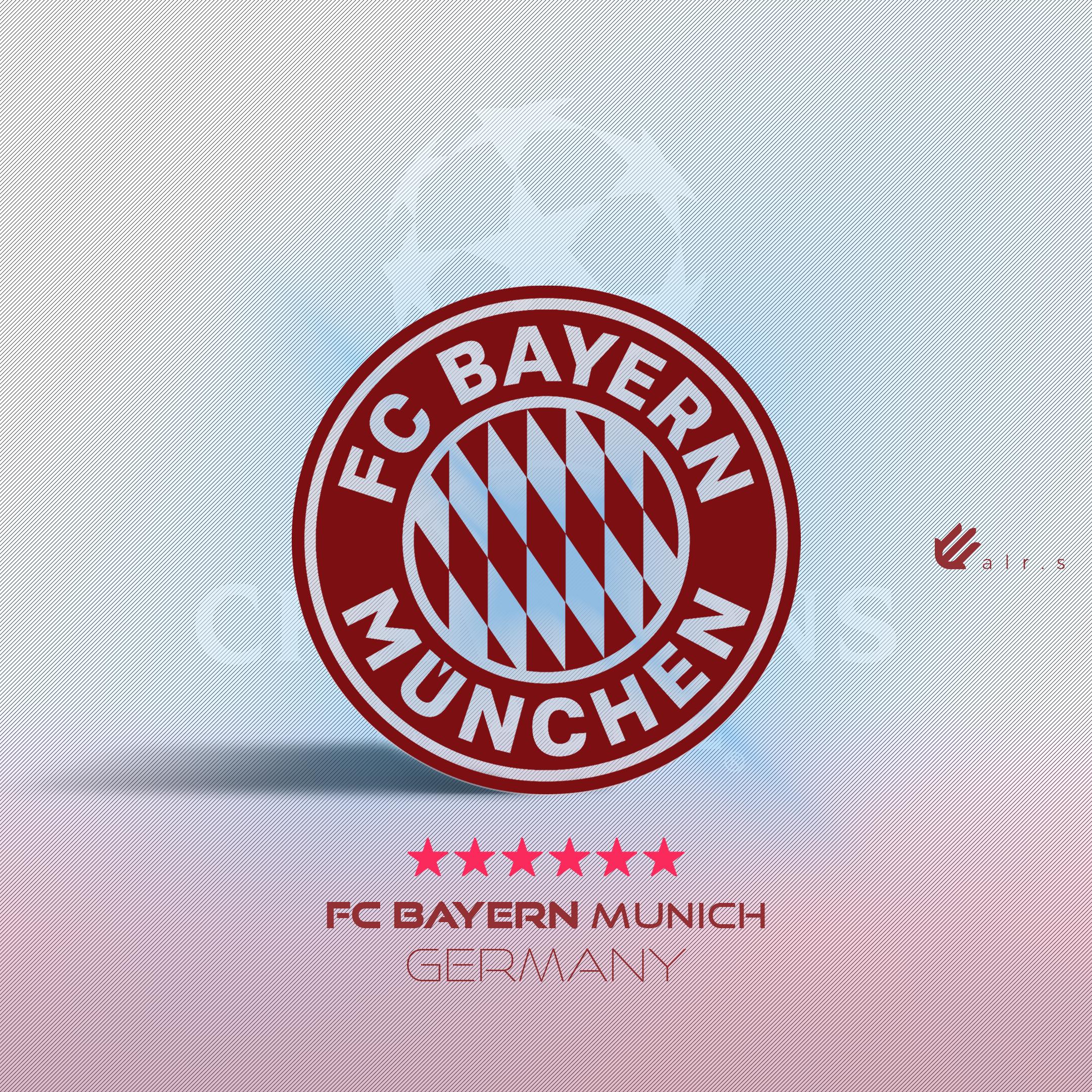 General 2160x2160 Football  Bayern Munich logo Champions League clubs graphic design creativity photography colorful sport  sports soccer soccer clubs Bundesliga