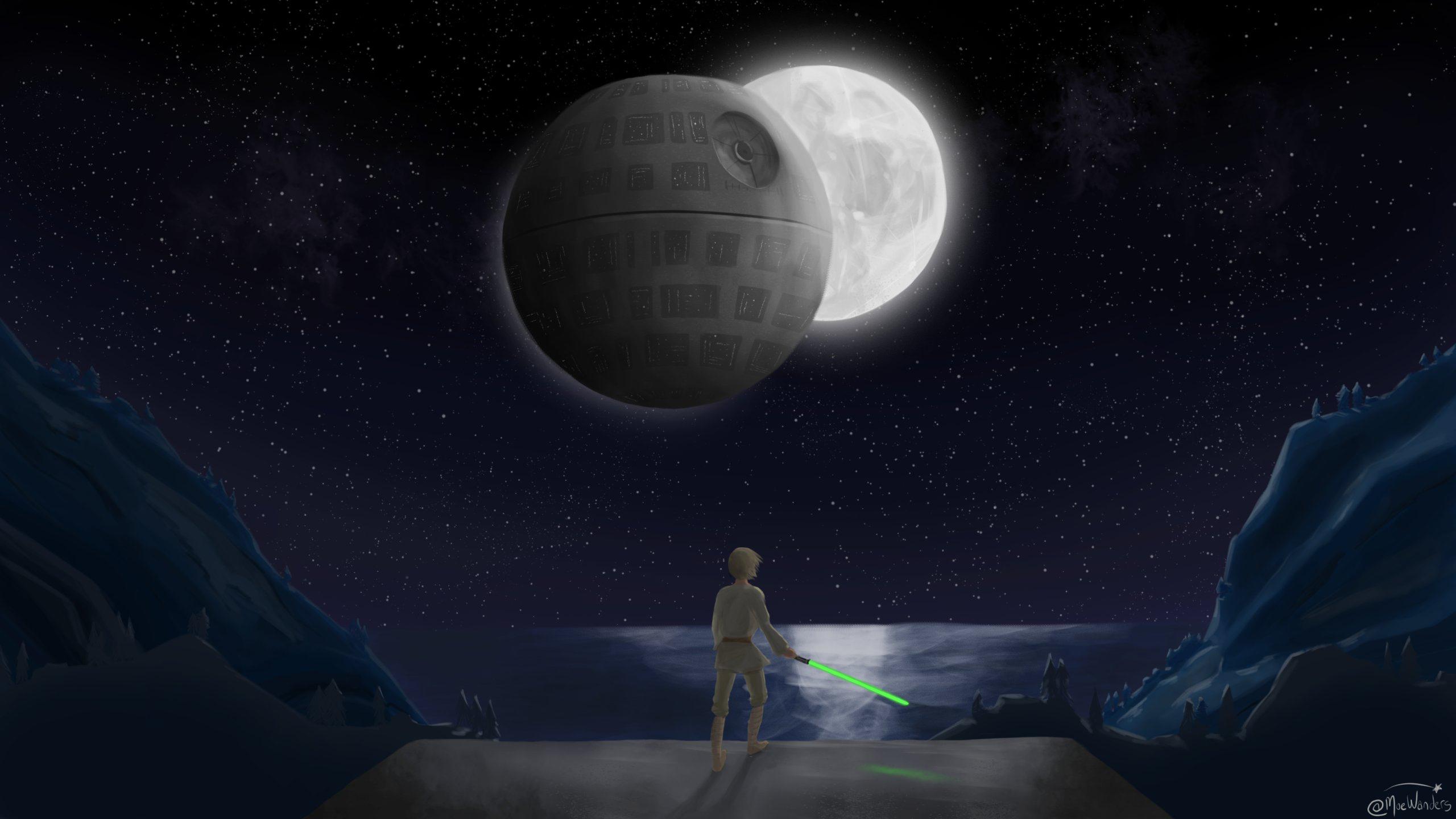 General 2560x1440 Star Wars fan art science fiction Momo (artist)
