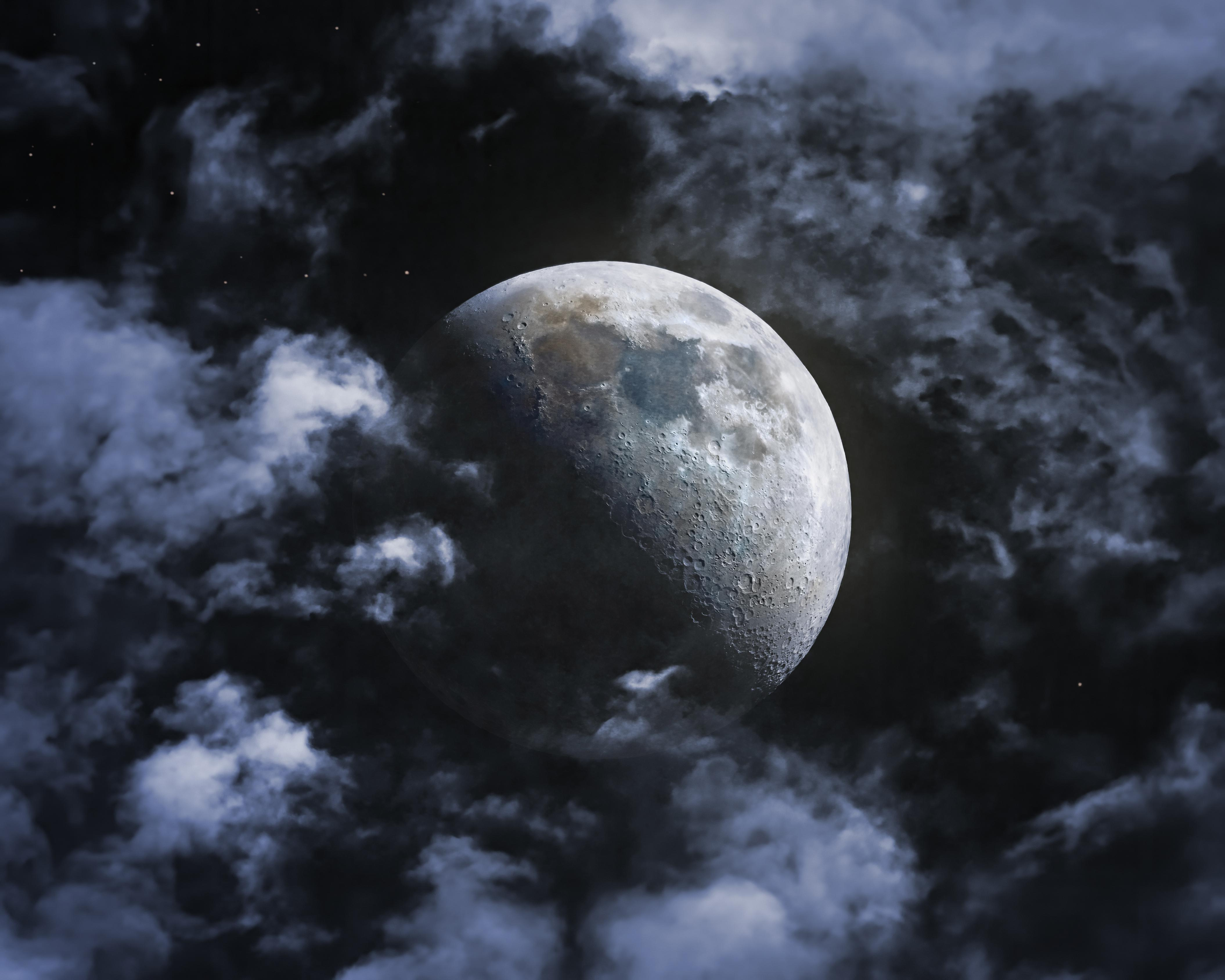 General 4220x3376 space Moon clouds telescope Composite