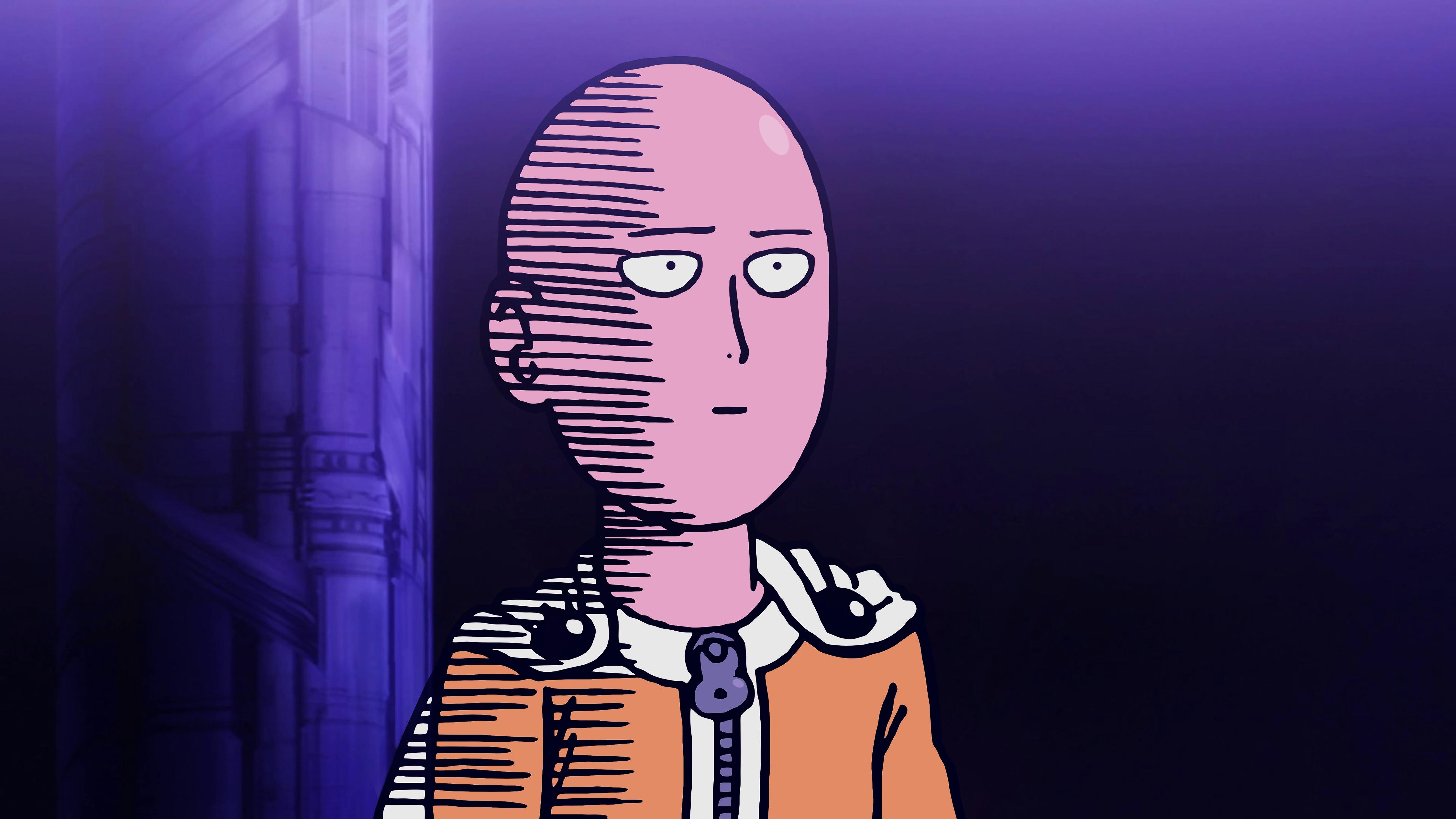 Anime 4500x2531 One-Punch Man anime Saitama