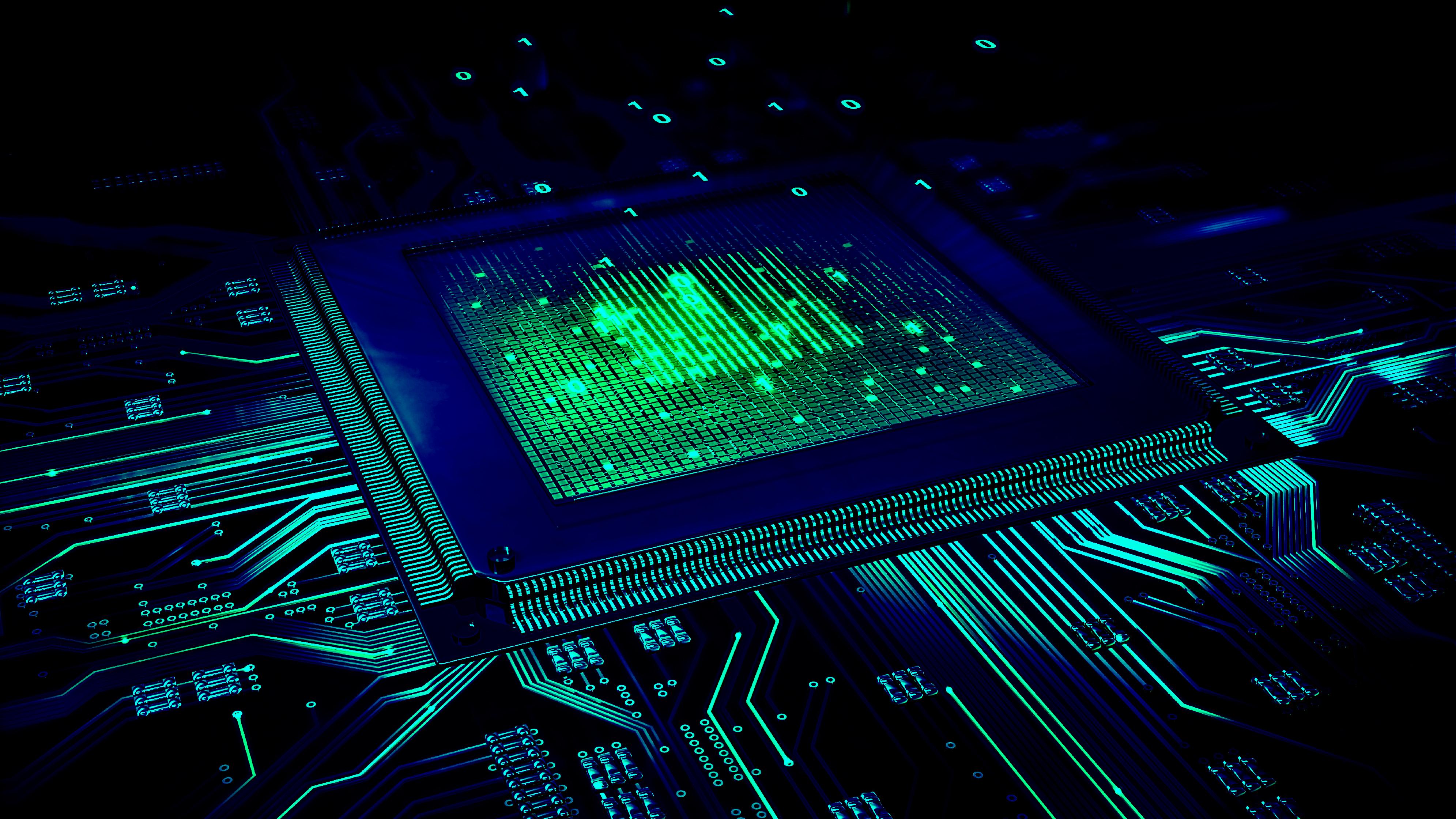 General 3982x2240 CPU tech circuit circuit boards computer technology