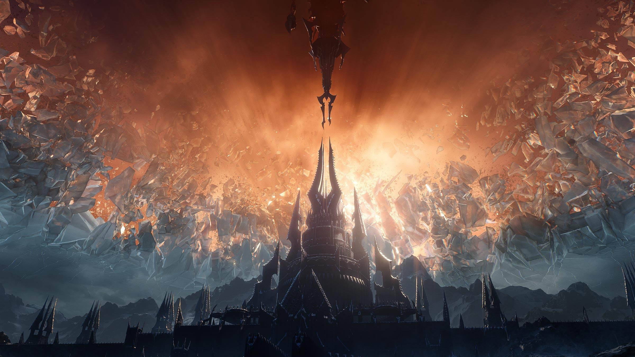 General 2400x1350 World of Warcraft Blizzard Entertainment CG cinematic World of Warcraft: Shadowlands Warcraft