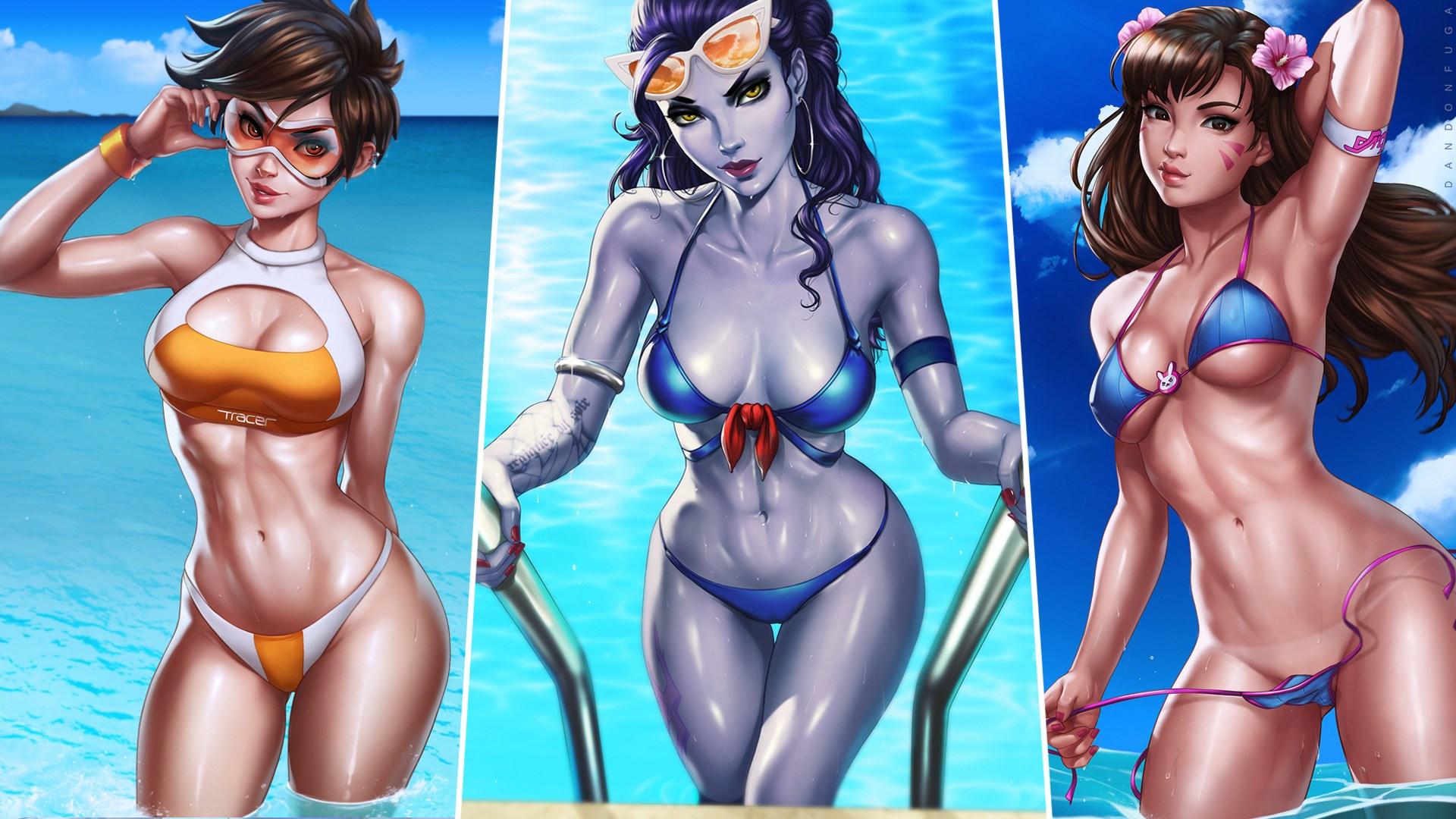 Tracer bikini overwatch Cara Theobold