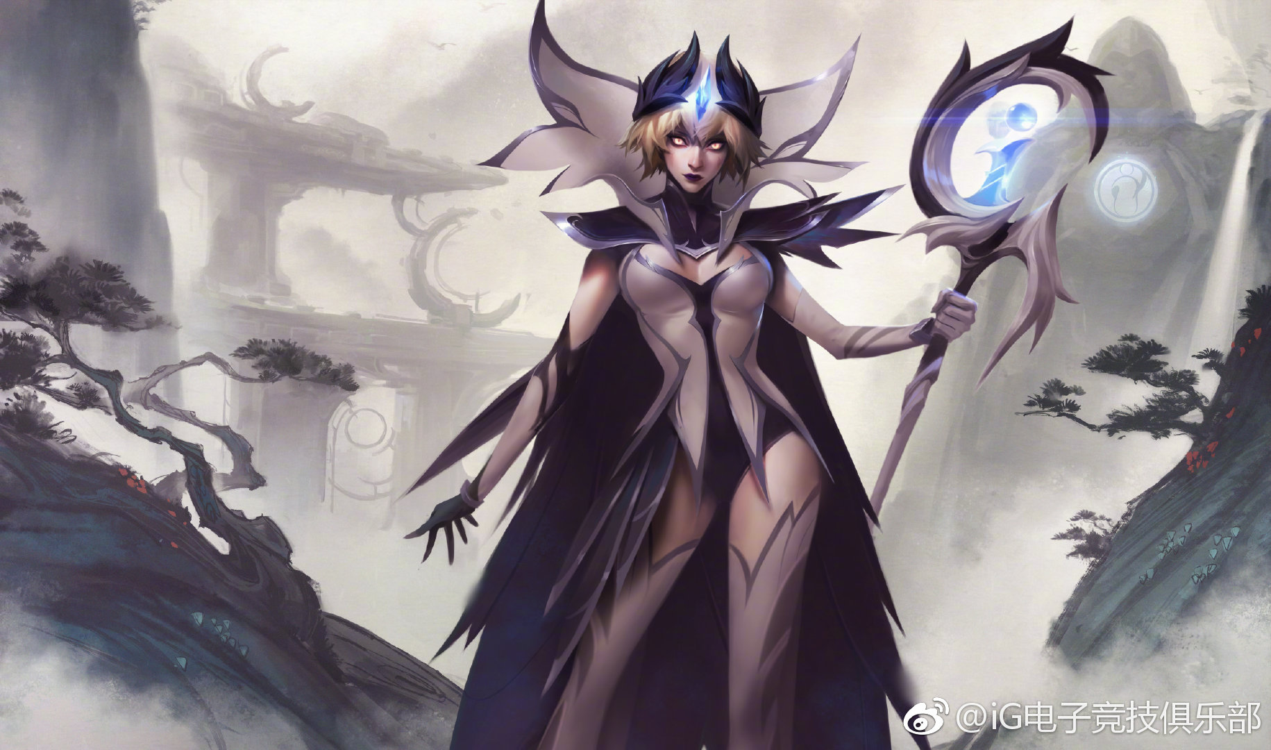 General 1831x1080 League of Legends LeBlanc (League of Legends) fantasy girl PC gaming