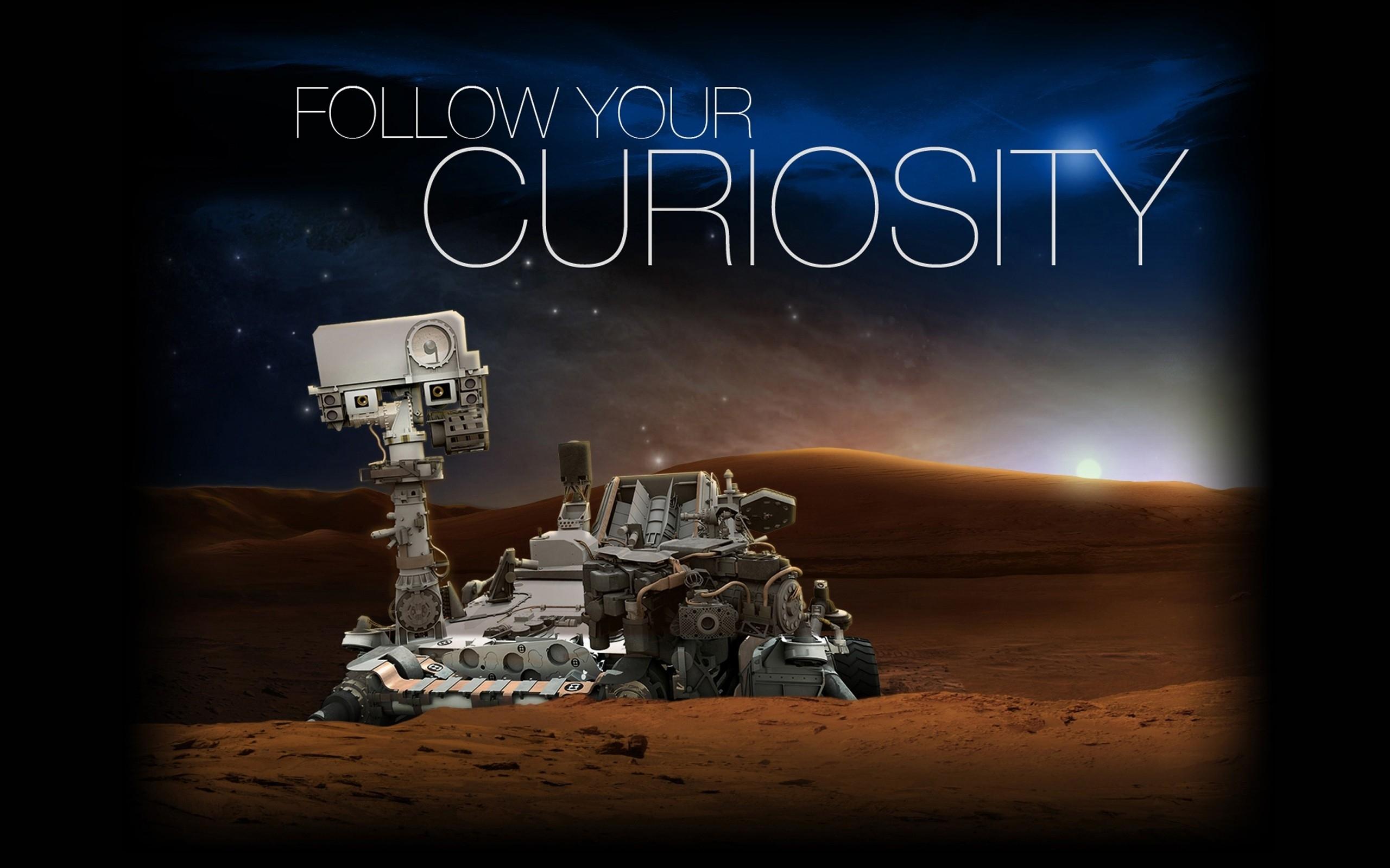 General 2560x1600 Mars Curiosity NASA Rover science space