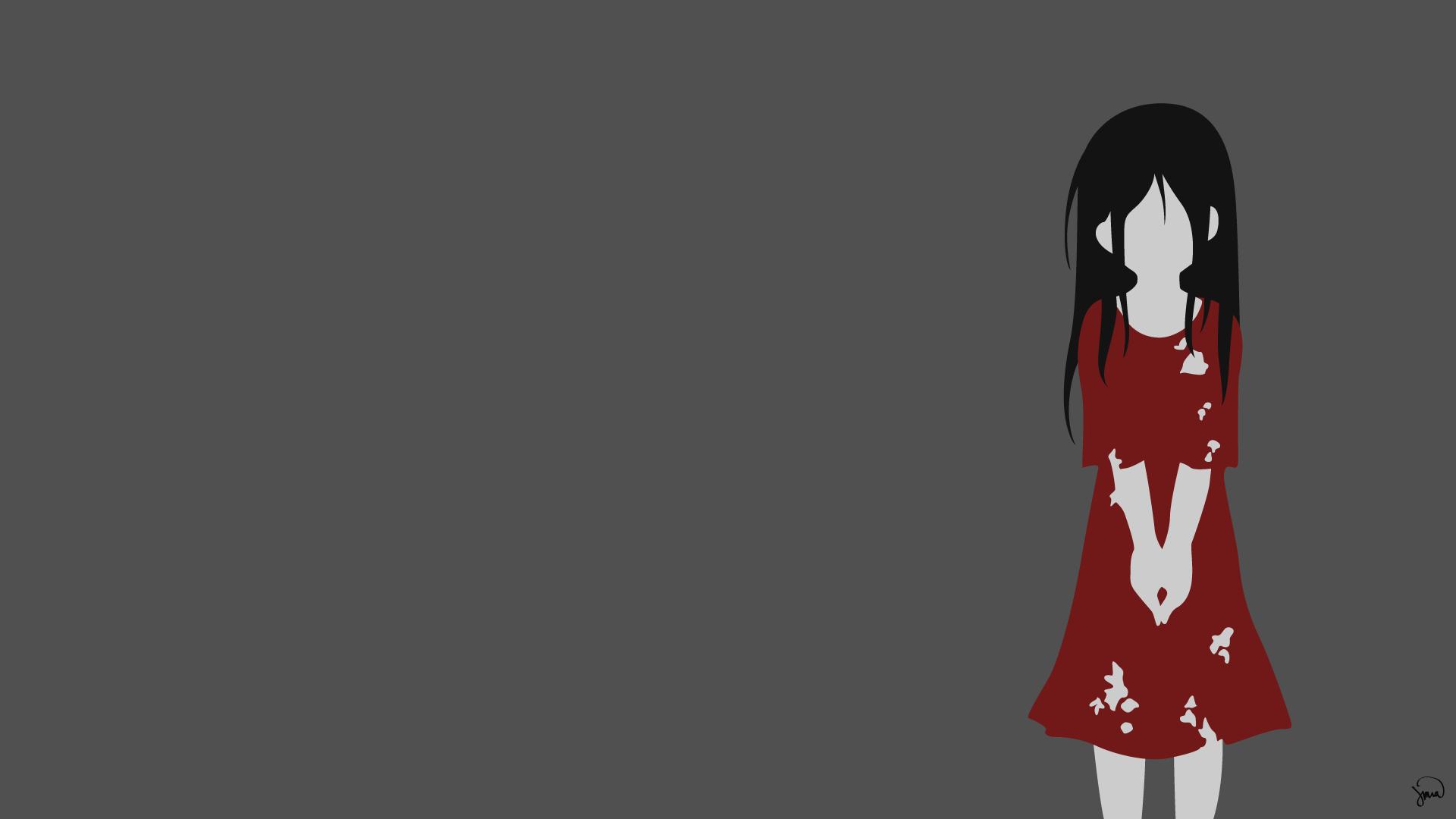 Anime 1920x1080 anime girls Corpse Party horror anime vector anime vectors