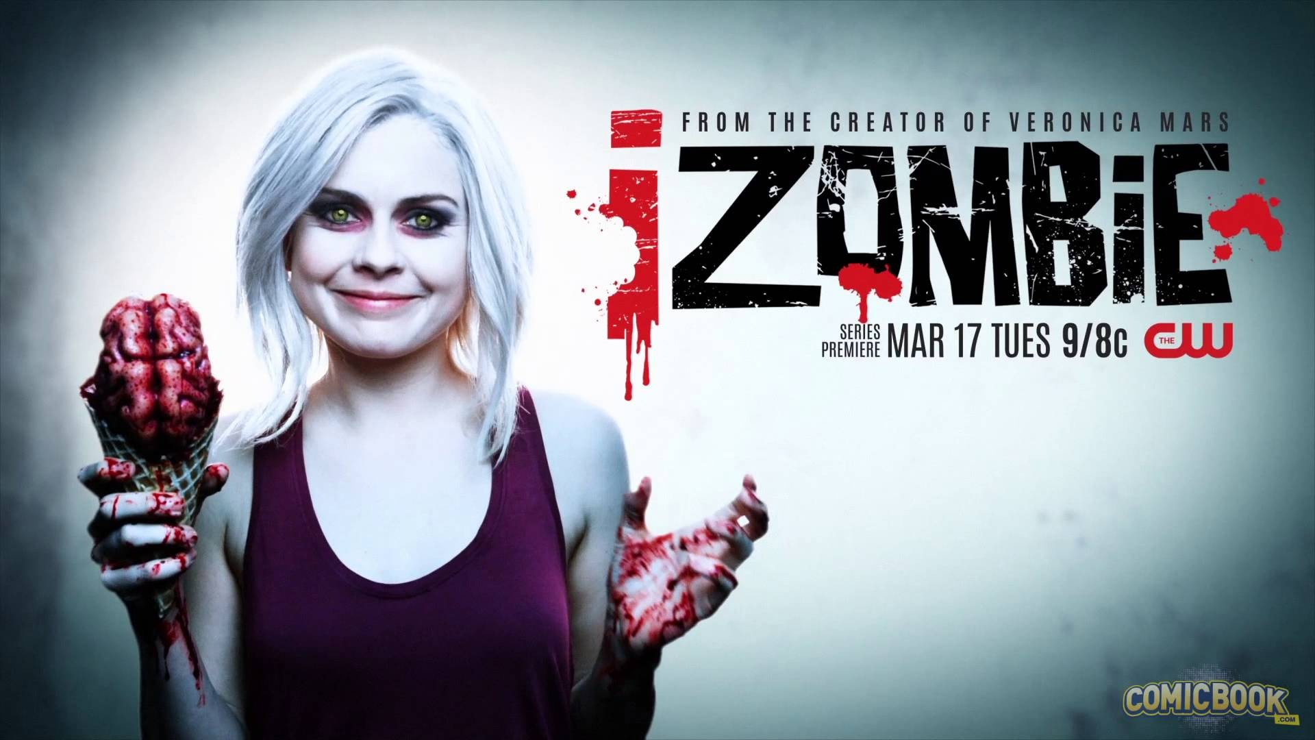 People 1920x1080 Rose McIver iZombie (tv show) white hair