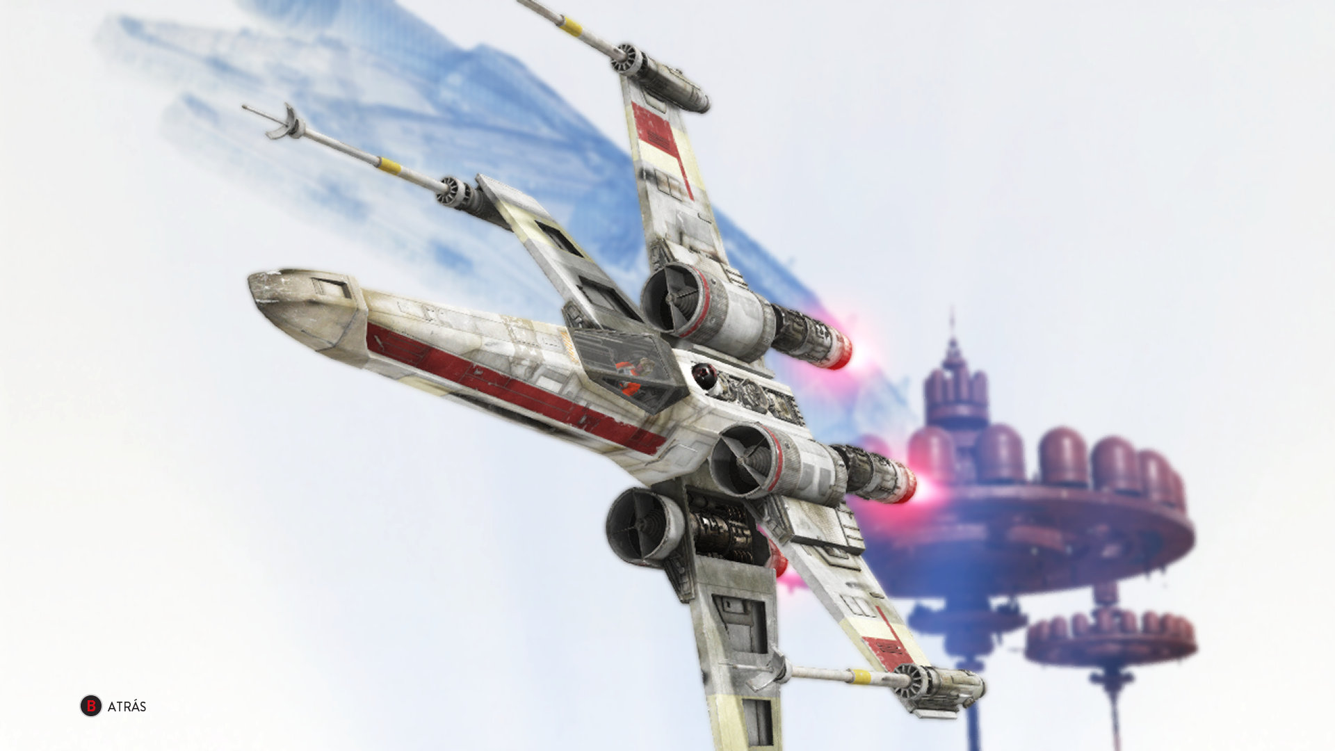 General 1920x1080 Star Wars Star Wars: Battlefront Bespin X-wing Star Wars Ships video games PC gaming science fiction