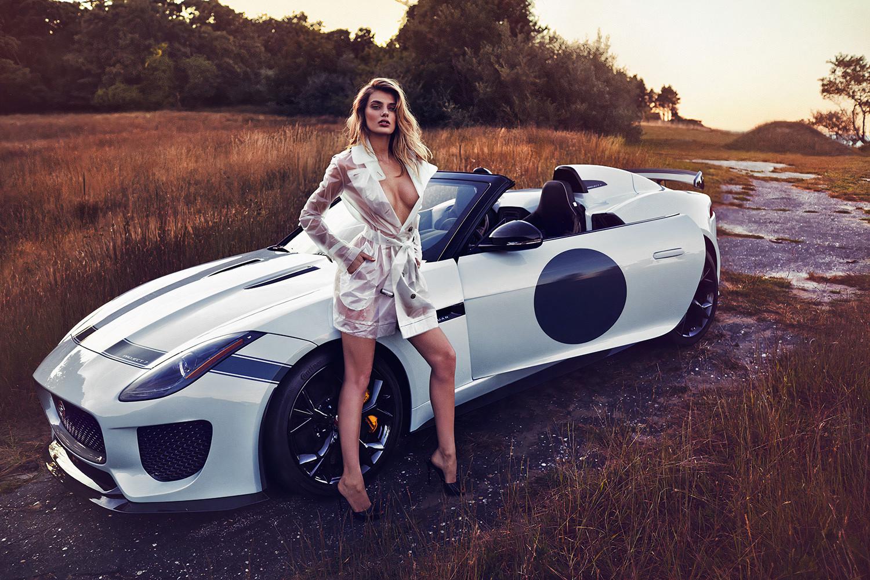 People 1500x1000 Bregje Heinen women model Dutch long hair Jaguar Project 7 legs see-through clothing heels blue eyes coats