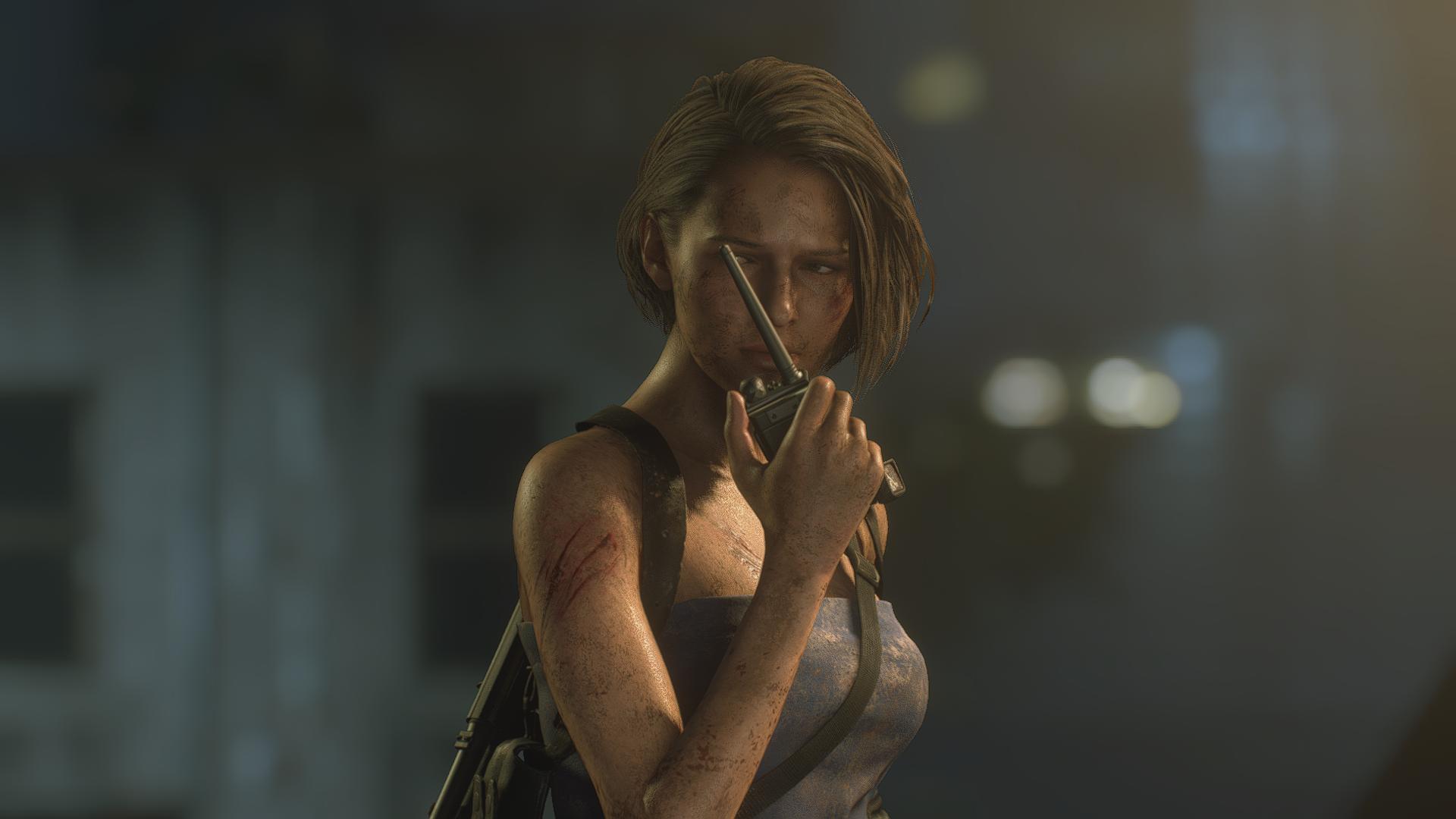 Jill Valentine Resident Evil Video Games 2020 Year Resident