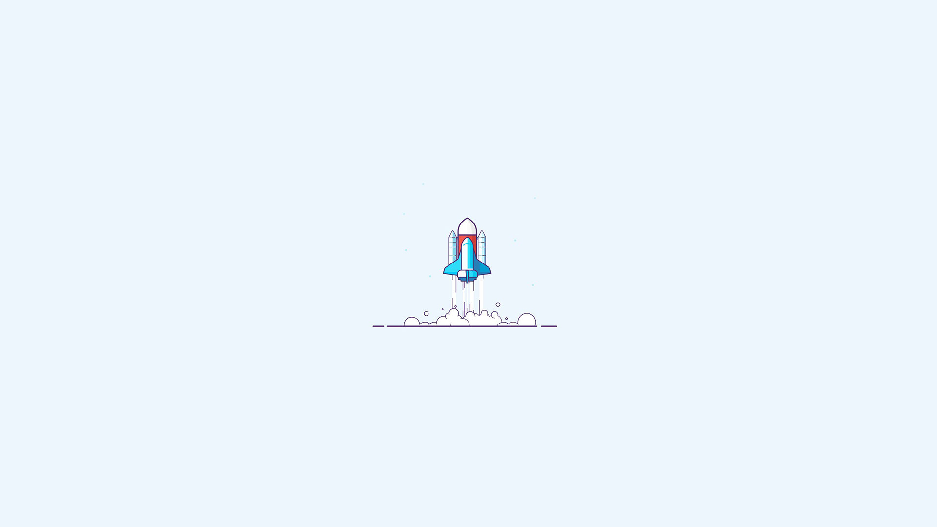 General 1920x1080 space spaceship minimalism simple simple background lift off space shuttle Launch