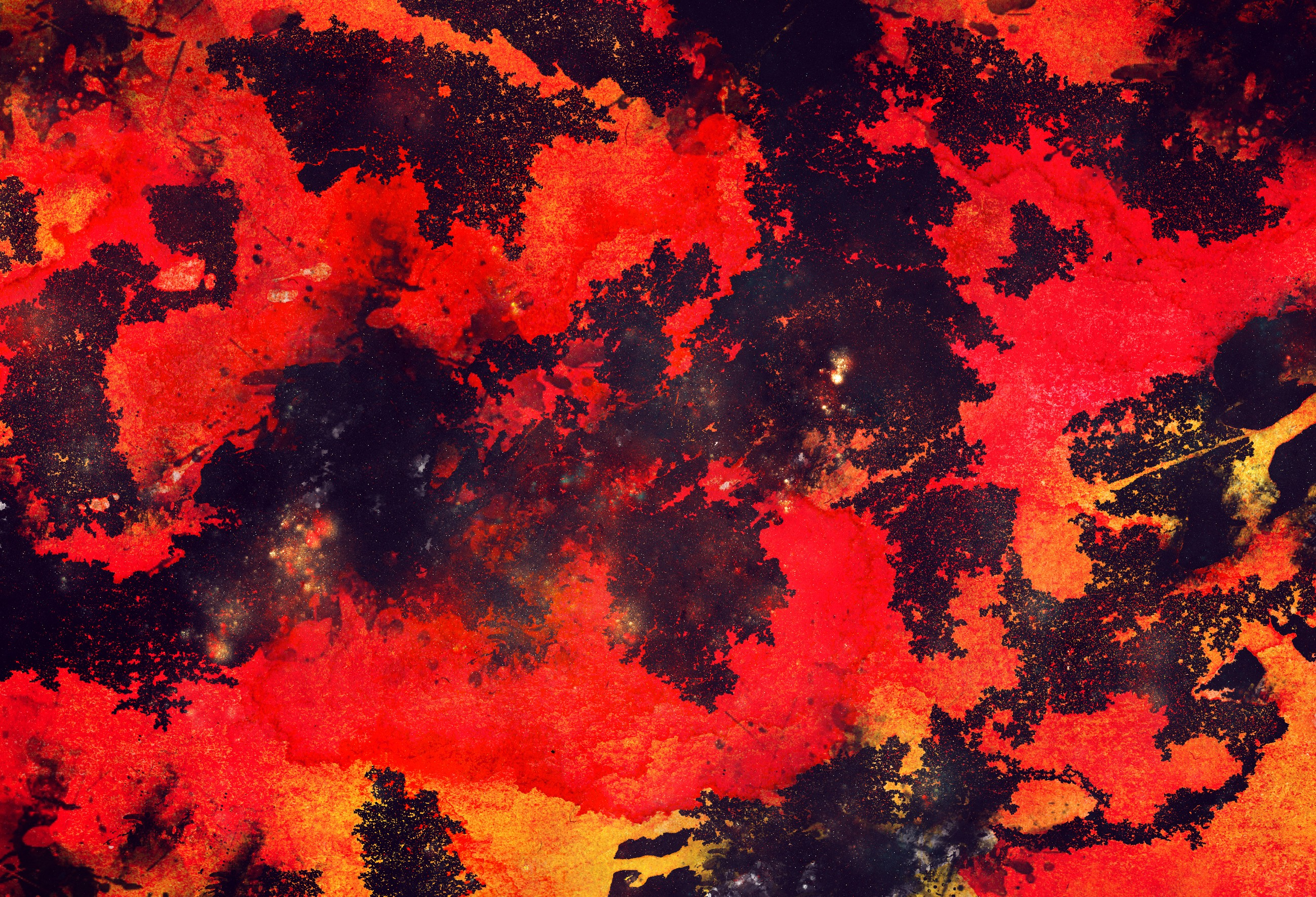 General 2598x1772 space colorful red grunge