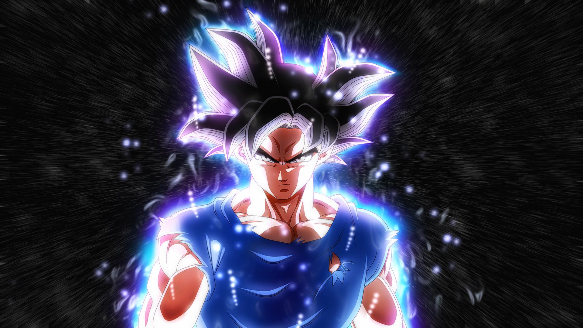 Anime 1920x1080 Son Goku Dragon Ball Super Ultra-Instinct Goku Dragon Ball