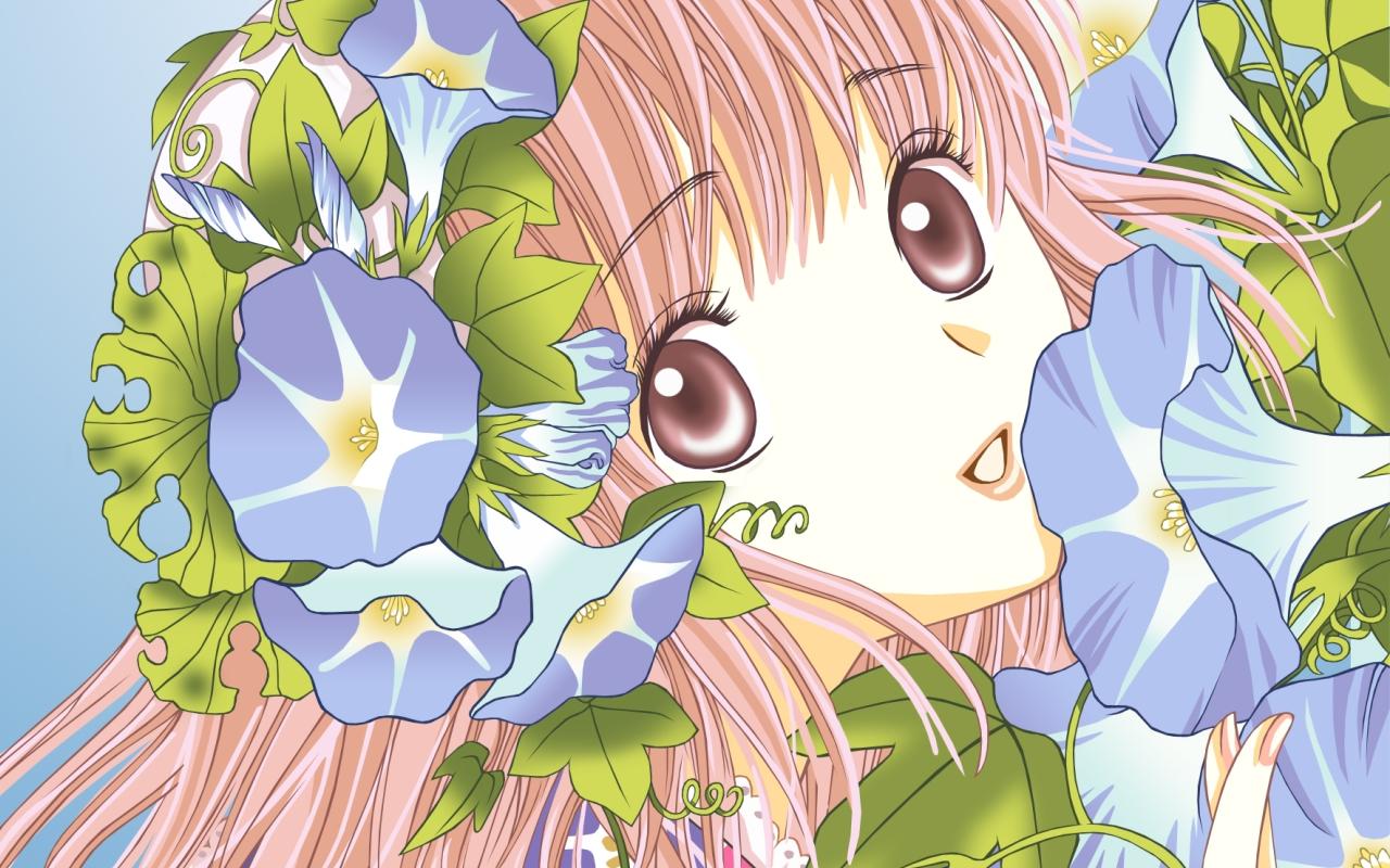 Anime 1280x800 CLAMP Kobato Hanato Kobato anime girls