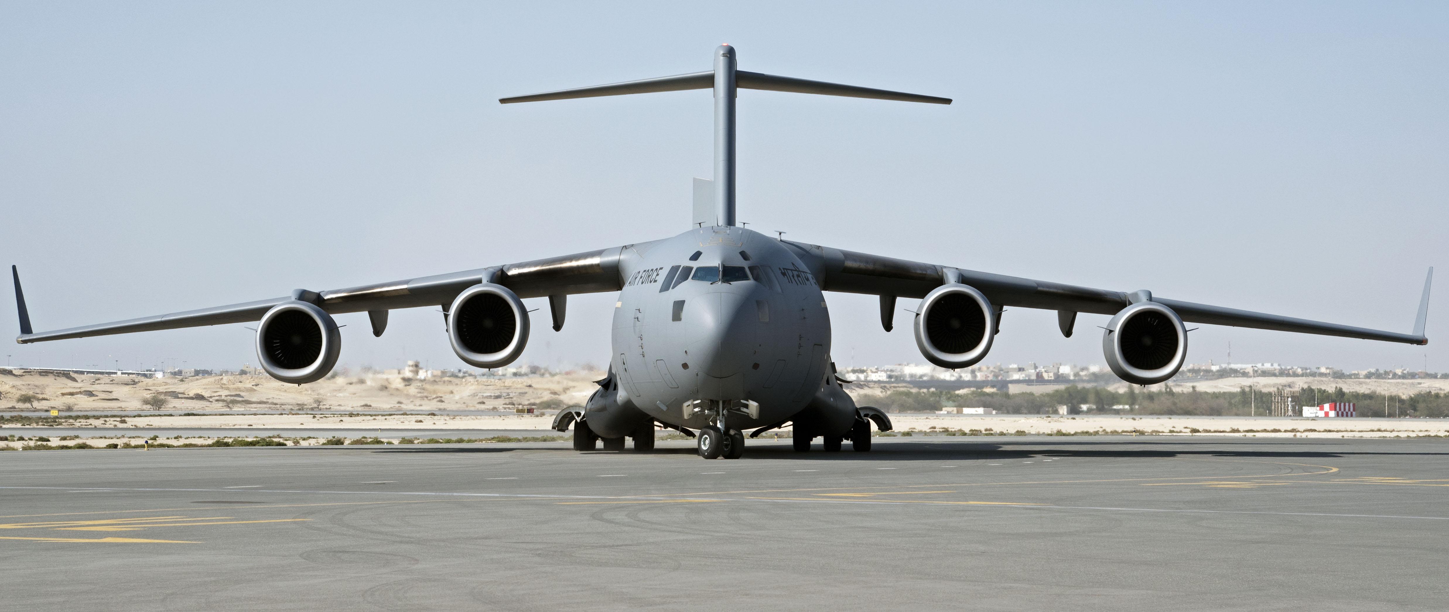 General 4948x2092 Boeing C-17 Globemaster III Indian Air Force warplanes