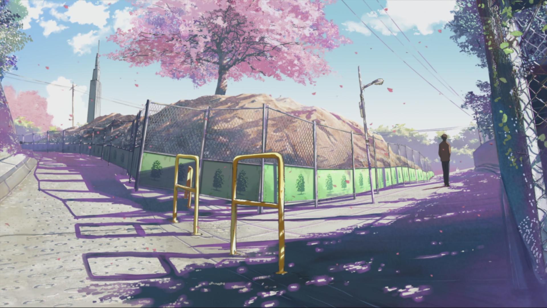 Anime 1920x1080 5 Centimeters Per Second Makoto Shinkai  anime