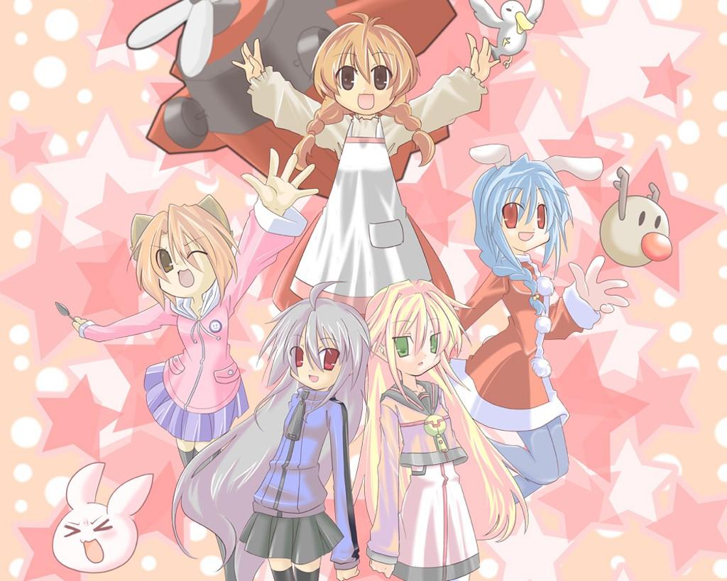 Anime 1024x819 100% Orange Juice manga anime girls anime