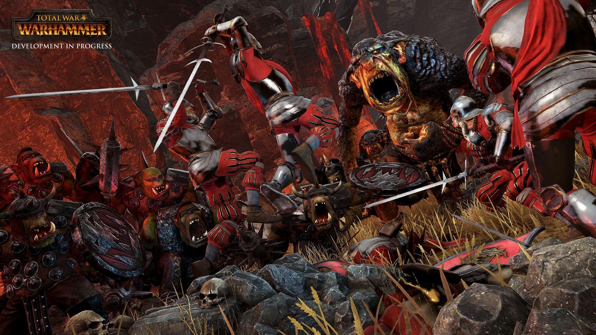 General 1920x1080 Total War: Warhammer orcs Fantasy Battle Warhammer PC gaming