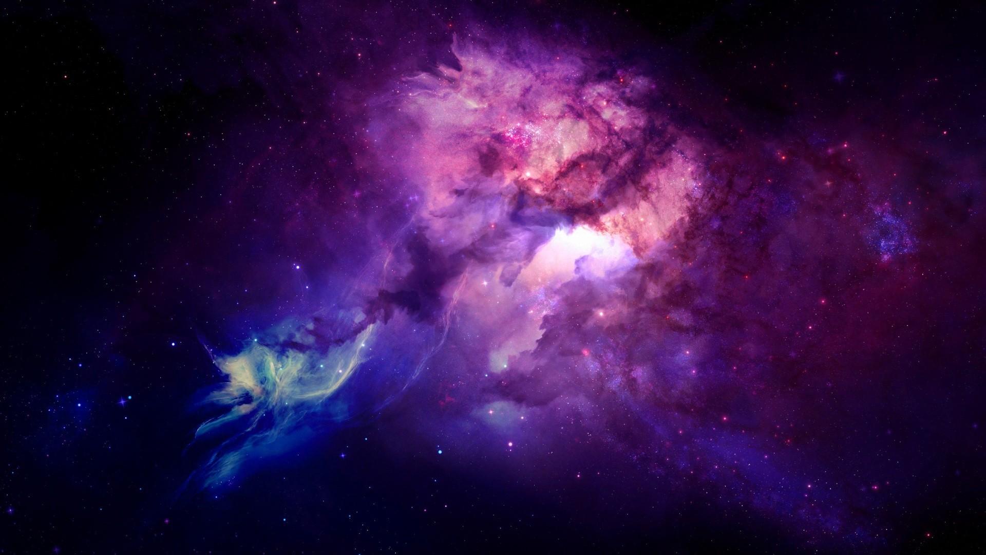 General 1920x1080 space galaxy universe space art nebula digital art