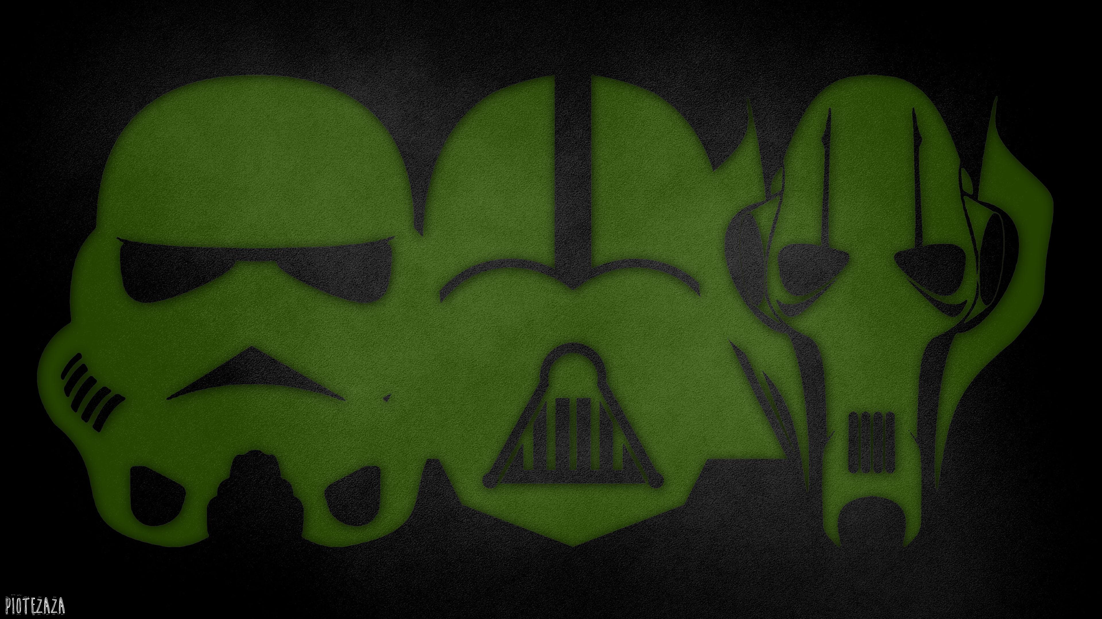 General 3840x2160 Star Wars green helmet stormtrooper