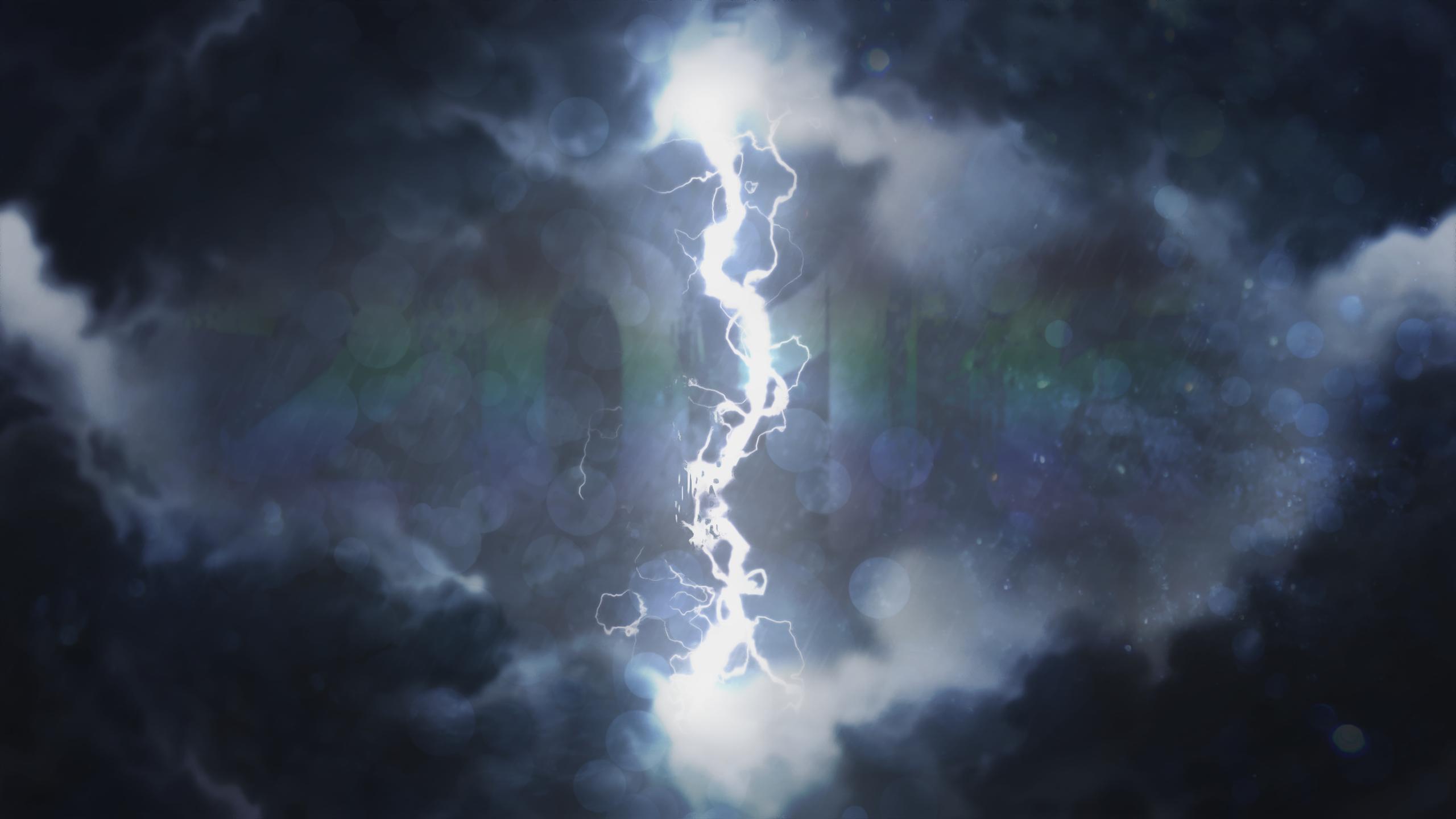 General 2560x1440 storm sky digital art