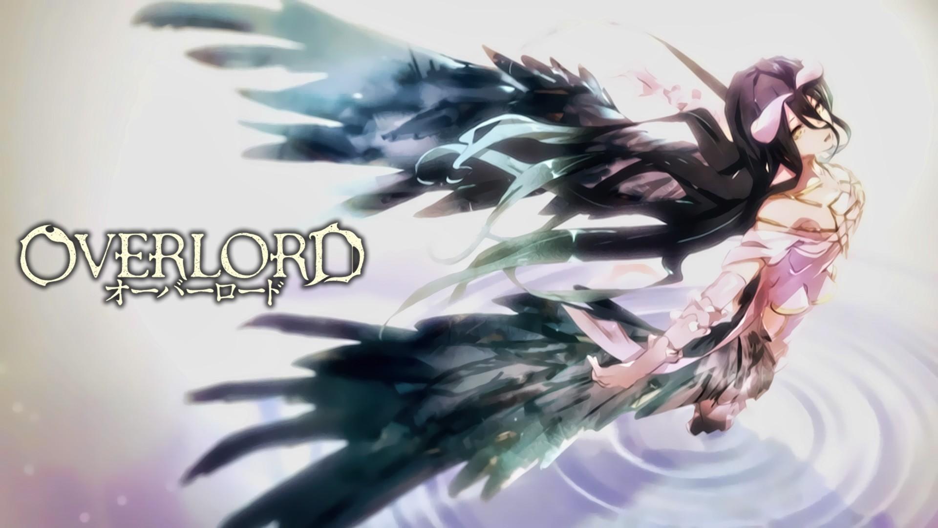 Anime 1920x1080 Overlord (anime) Albedo (OverLord) anime girls horns