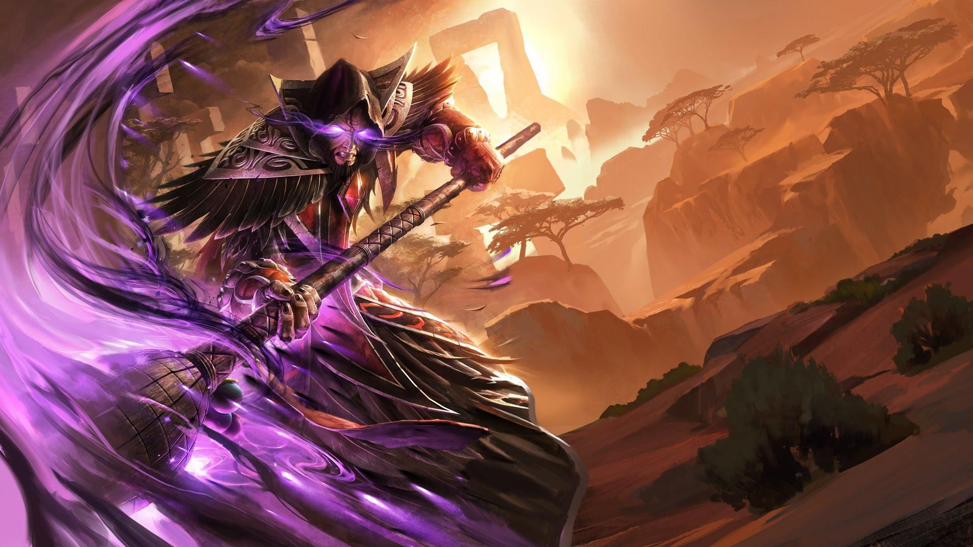 General 1920x1080 Hearthstone: Heroes of Warcraft video games fantasy art Medivh