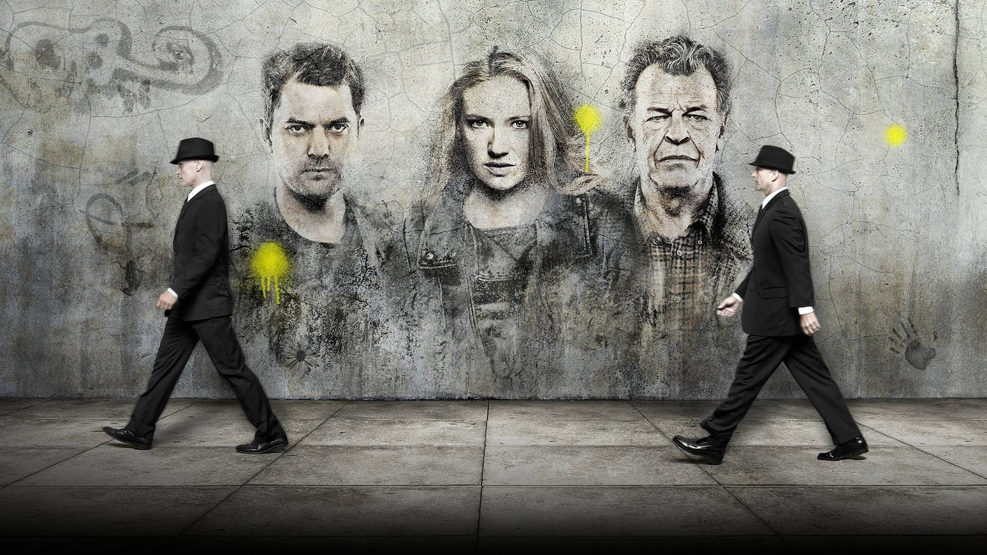 General 1920x1080 Fringe (TV series) graffiti Promos TV Series Anna Torv Olivia Dunham Joshua Jackson Peter Bishop John Noble Dr. Walter Bishop Promotional