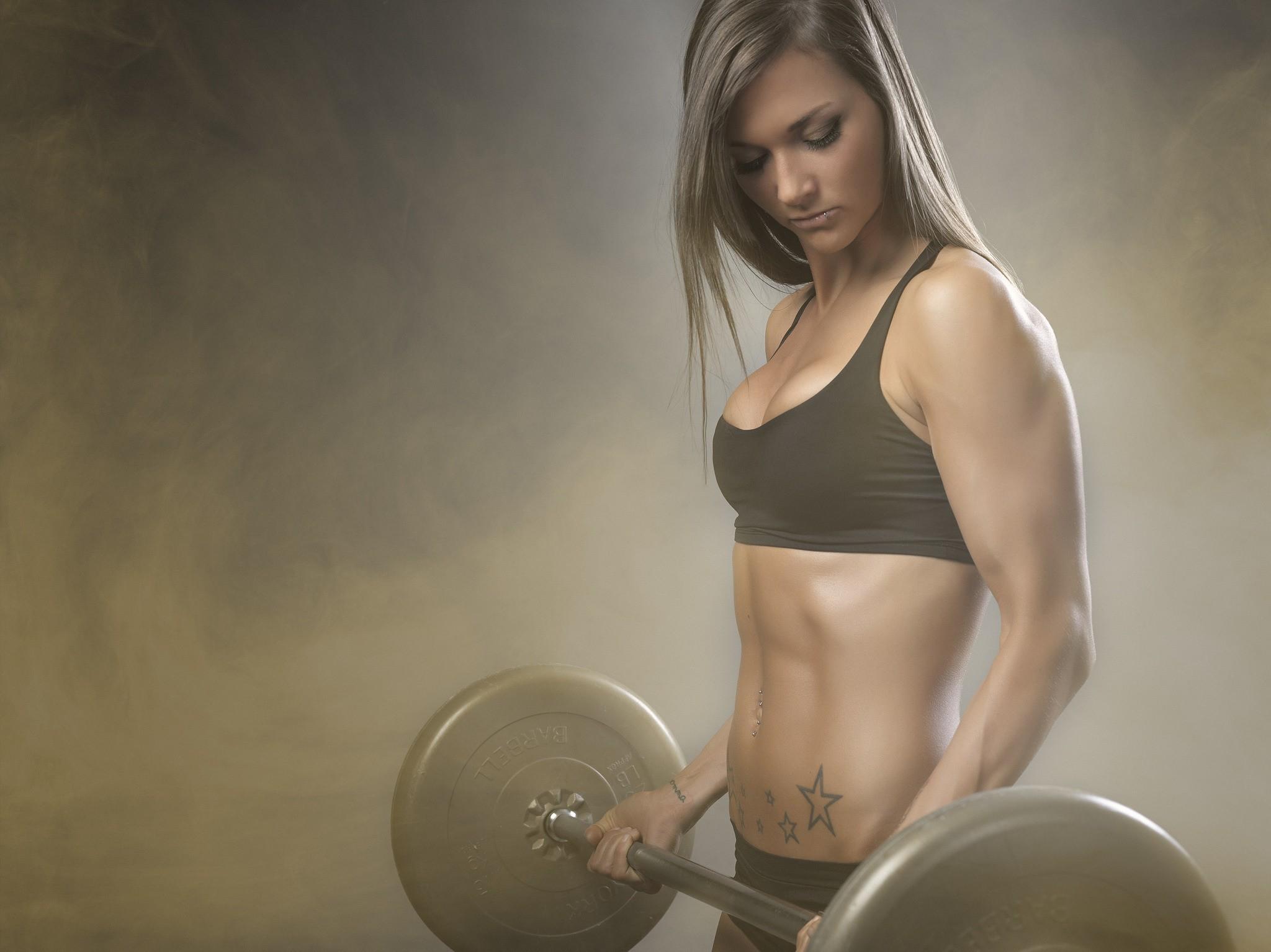 People 2048x1534 sports skinny bodybuilding tattoo fitness model women
