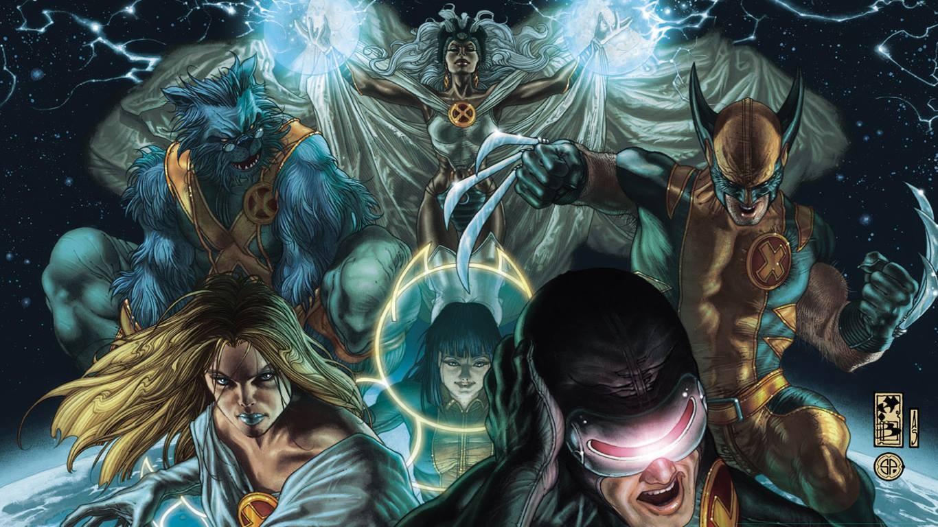 General 1366x768 X-Men Marvel Comics Wolverine Cyclops Storm (character) Beast (character)