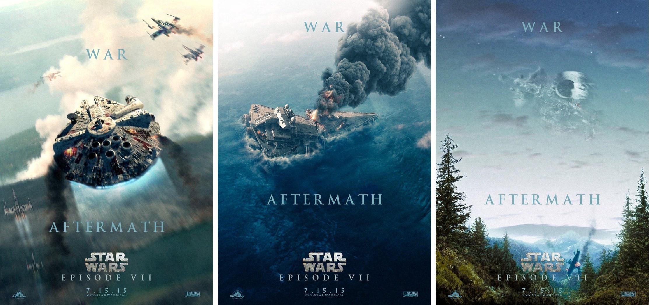 General 2225x1049 Star Wars collage artwork Millennium Falcon Star Destroyer Death Star digital art fan art X-wing Star  Destroyer movies