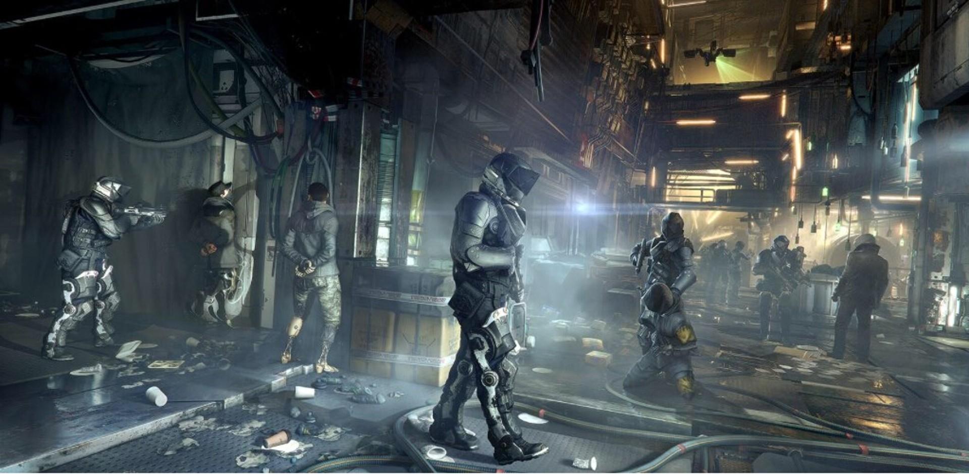 General 1920x940 Deus Ex: Mankind Divided video games PC gaming video game art futuristic