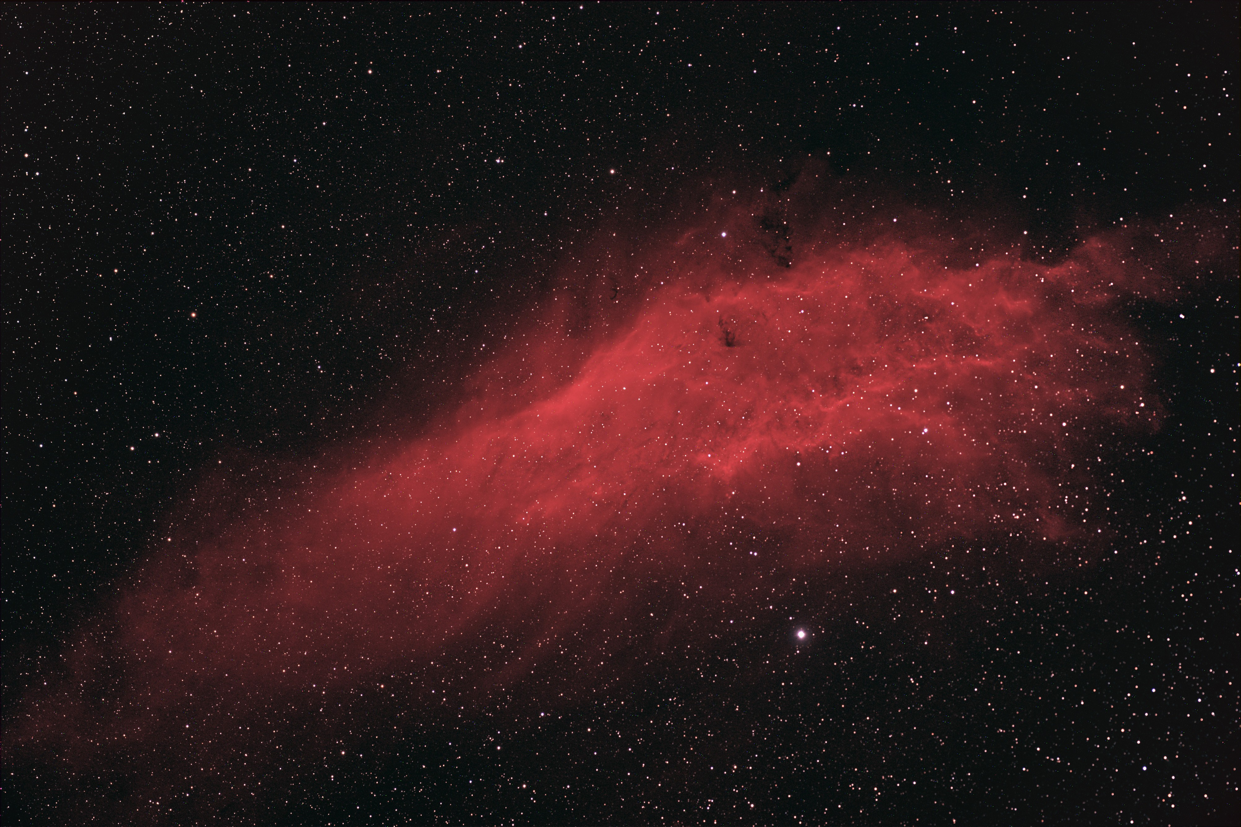 General 4006x2670 space galaxy stars space art digital art red