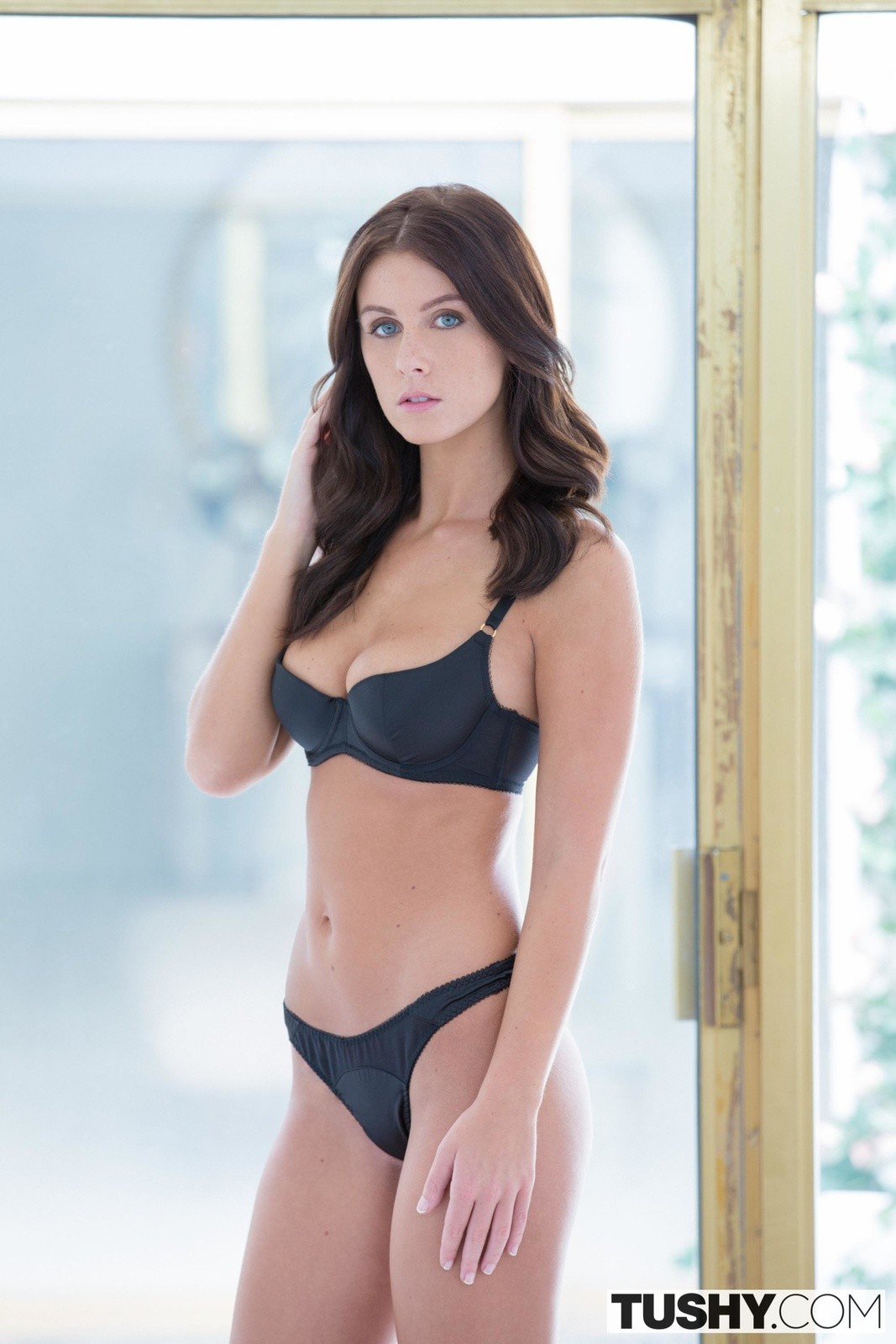 People 1067x1600 brunette lingerie women Whitney Westgate pornstar bra Tushy